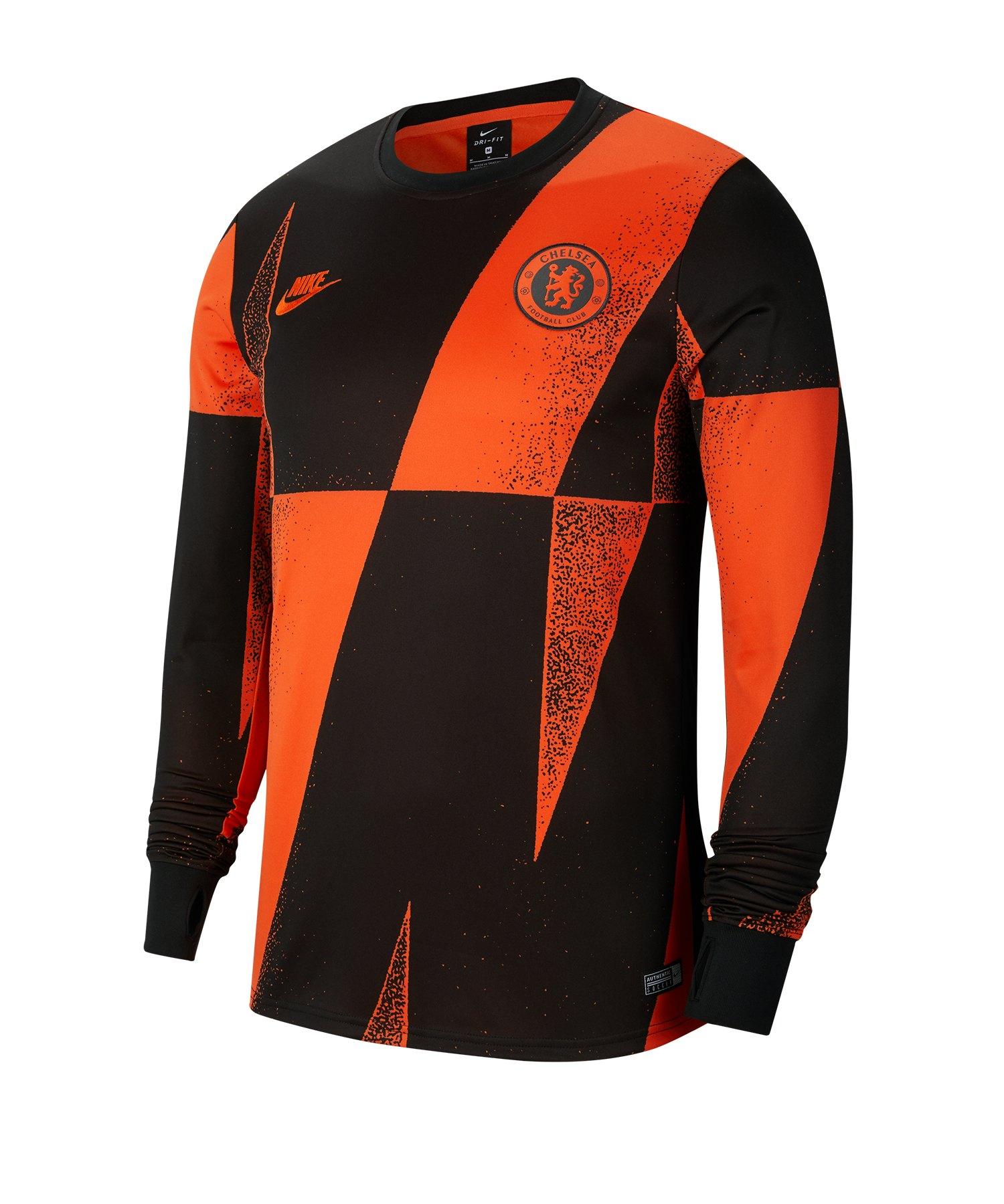 Nike FC Chelsea London Dri-FIT Sweatshirt F817 - orange