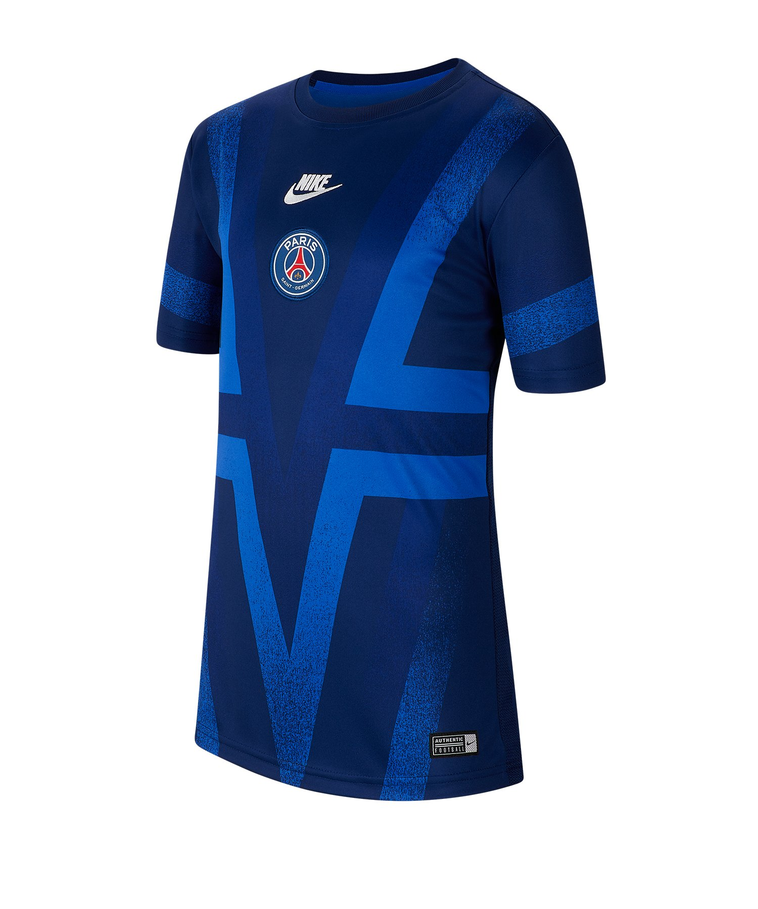 Nike Paris St. Germain Dry T-Shirt CL Kids F496 - blau