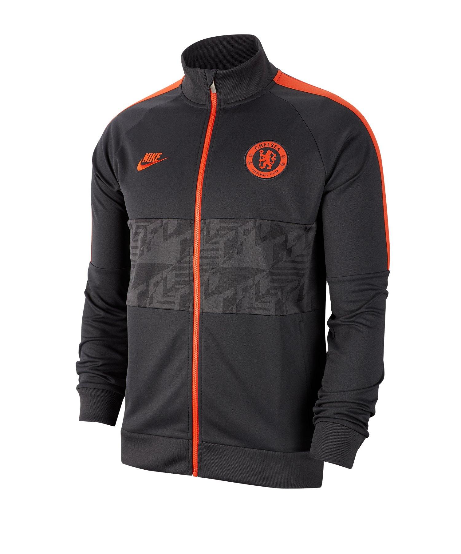 Nike FC Chelsea London I96 Jacket Jacke CL F060 - schwarz