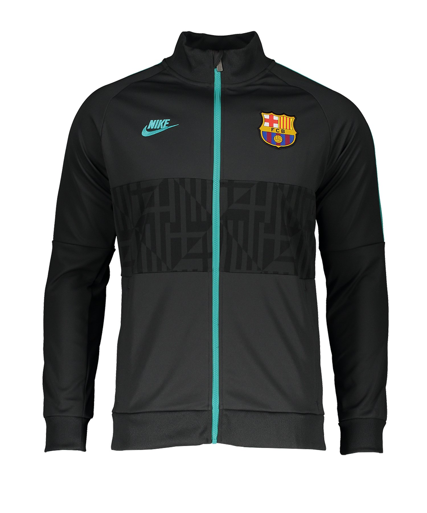 Nike FC Barcelona I96 Jacket Jacke CL F070 - schwarz