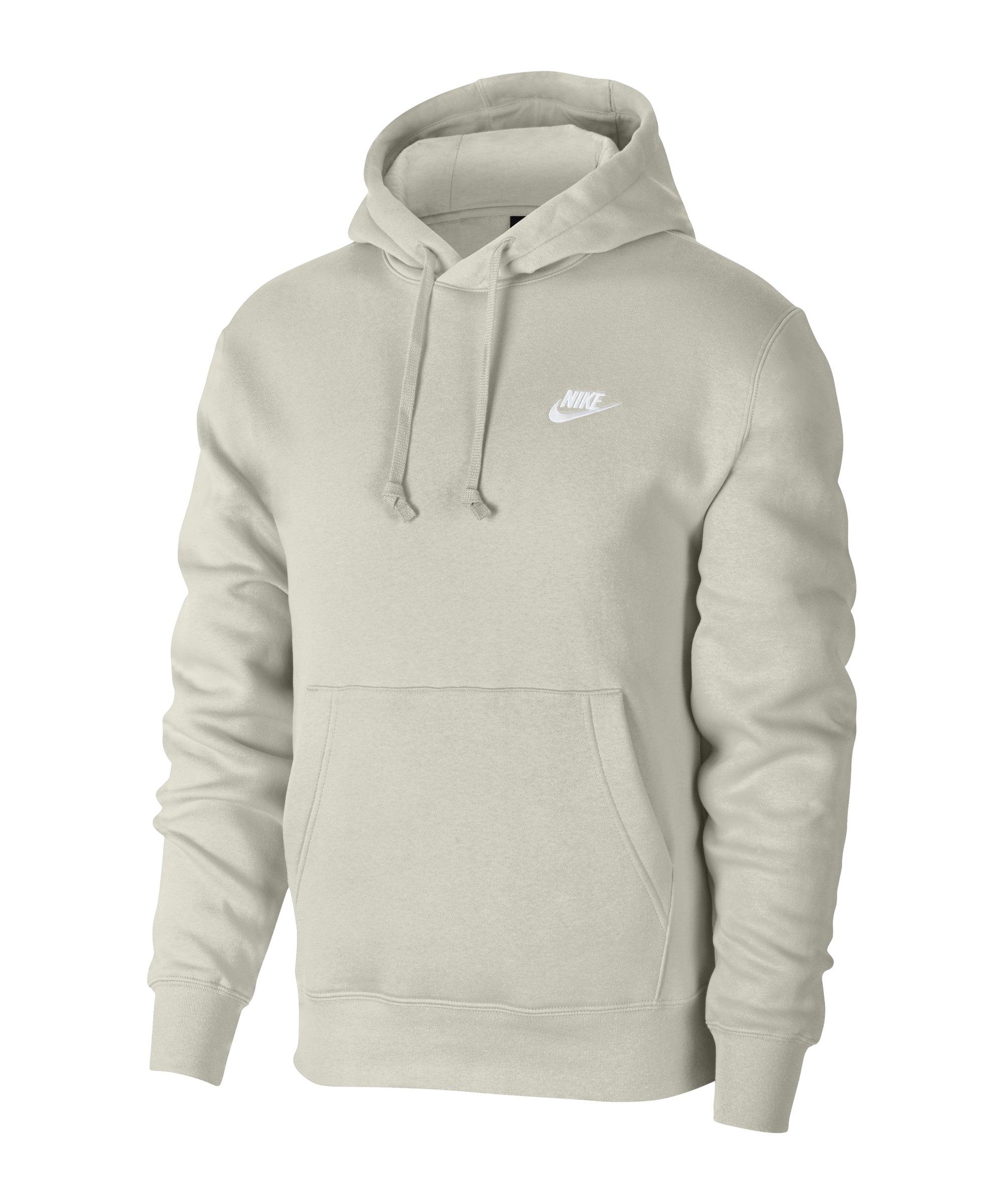 Nike Club Fleece Hoody Braun F072 - braun