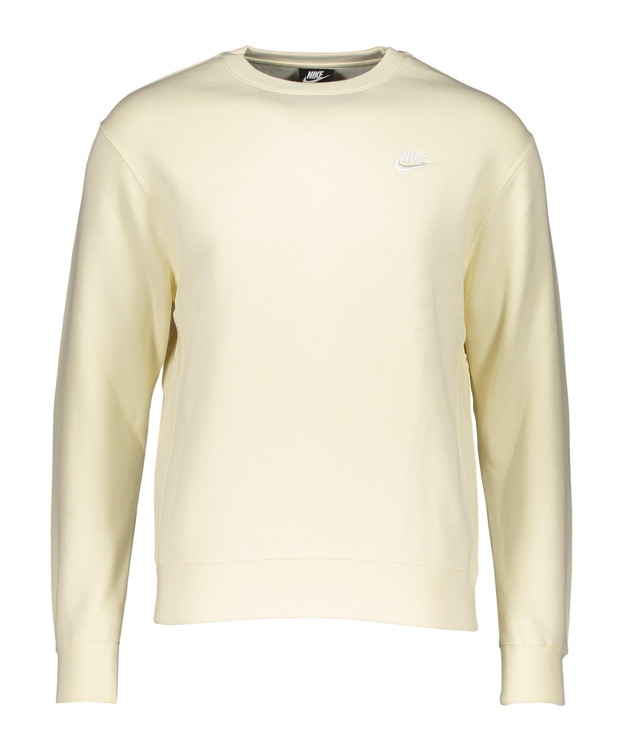 Nike Club Crew Sweatshirt Beige F113 - beige