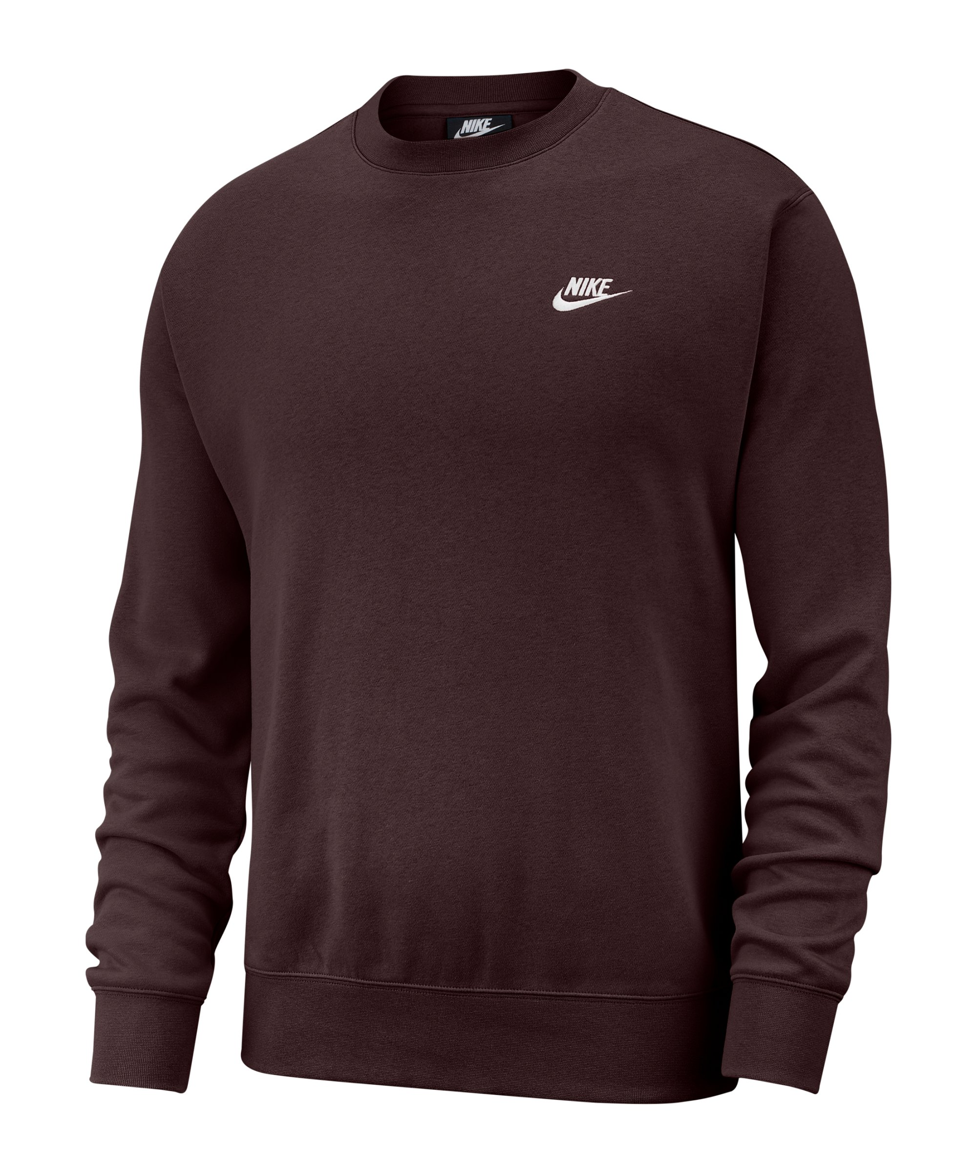 Nike Club Crew Sweatshirt Braun F263 - braun
