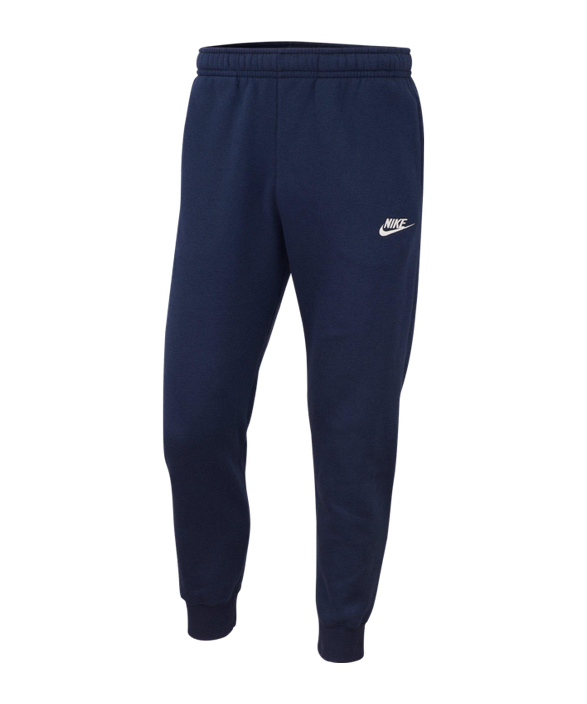 Nike Club Fleece Jogginghose Blau F410 - blau
