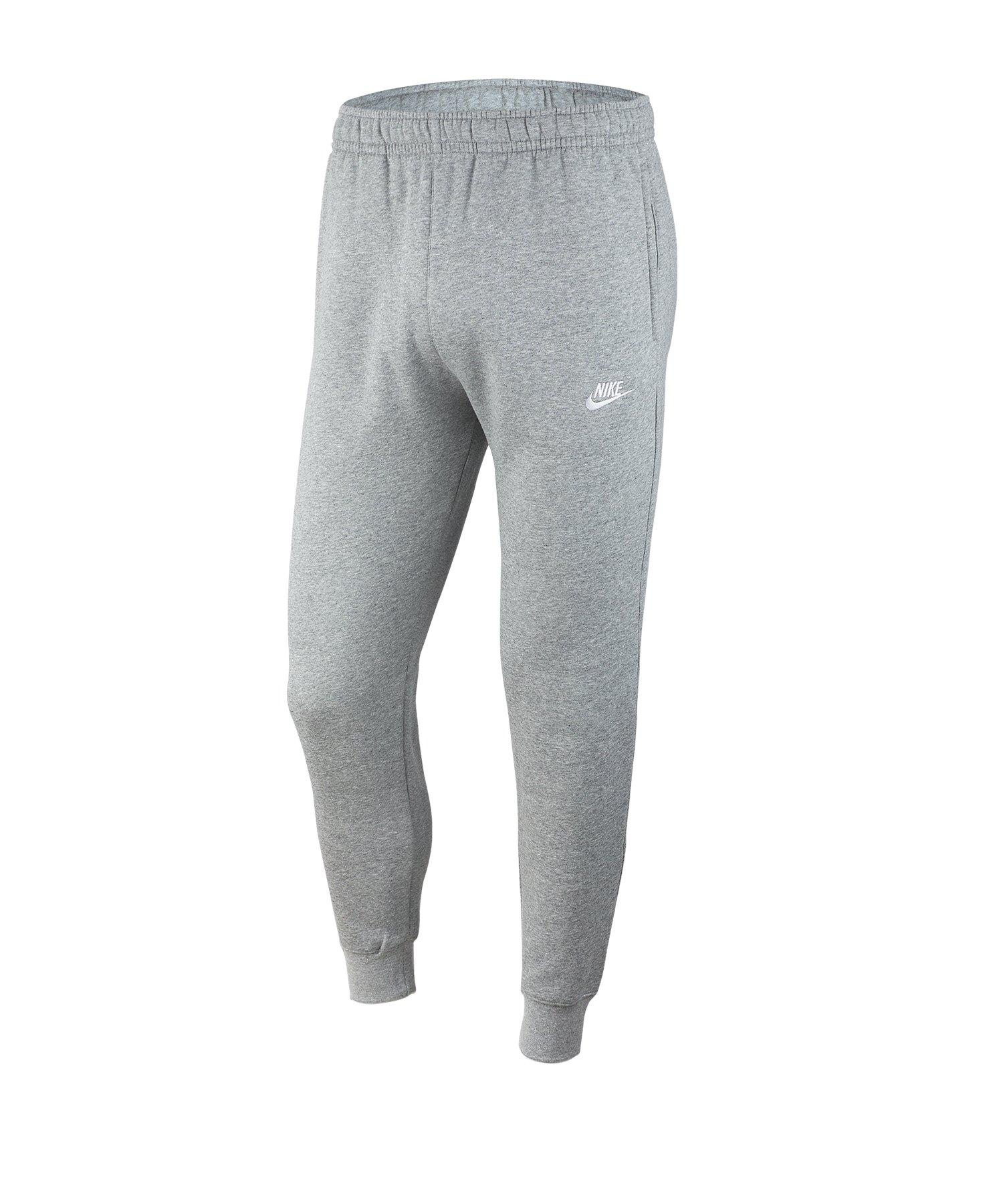 Nike Club Fleece Jogginghose Grau F063 - grau