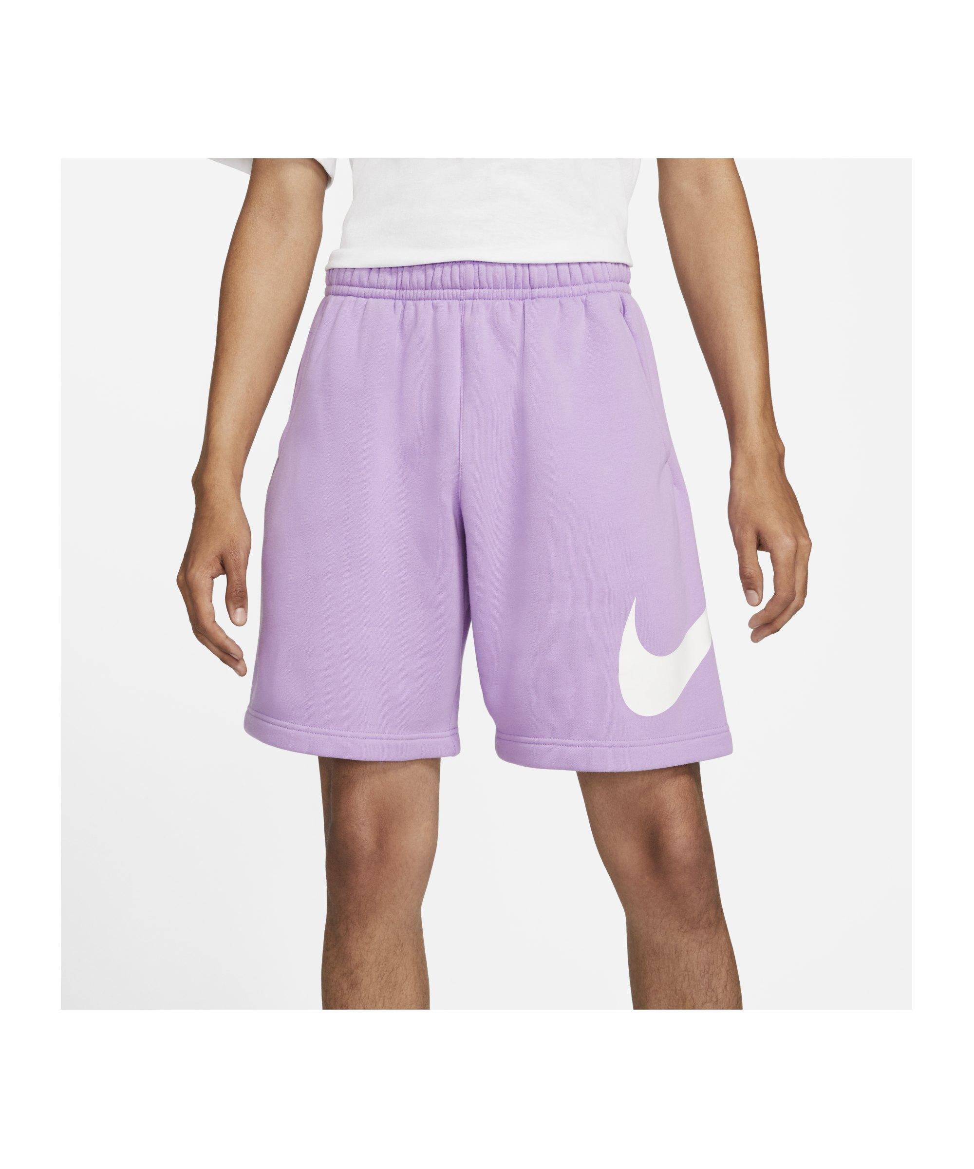 Nike Club Graphic Short Lila F590 - lila