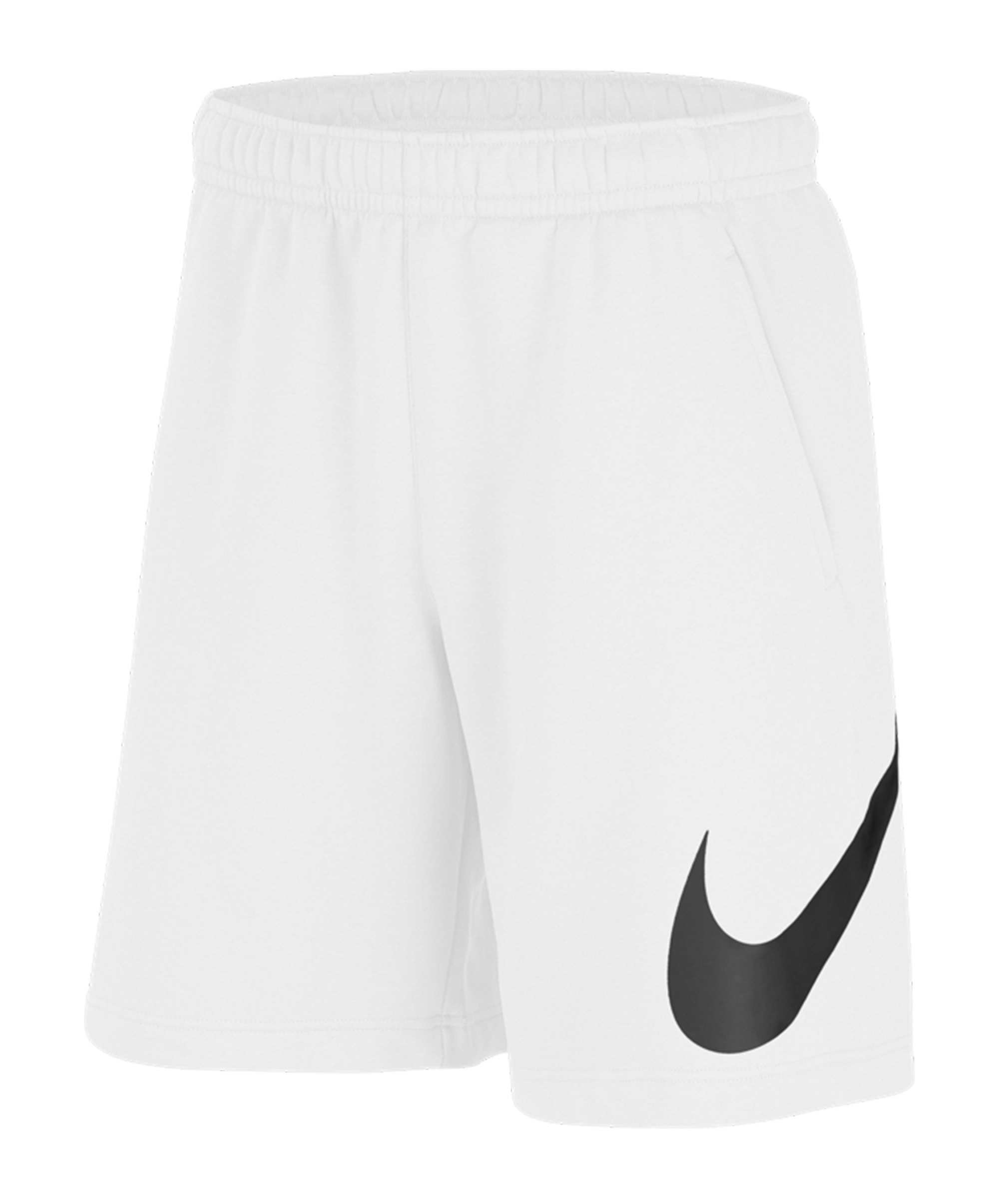 Nike Club Graphic Short Weiss F100 - weiss