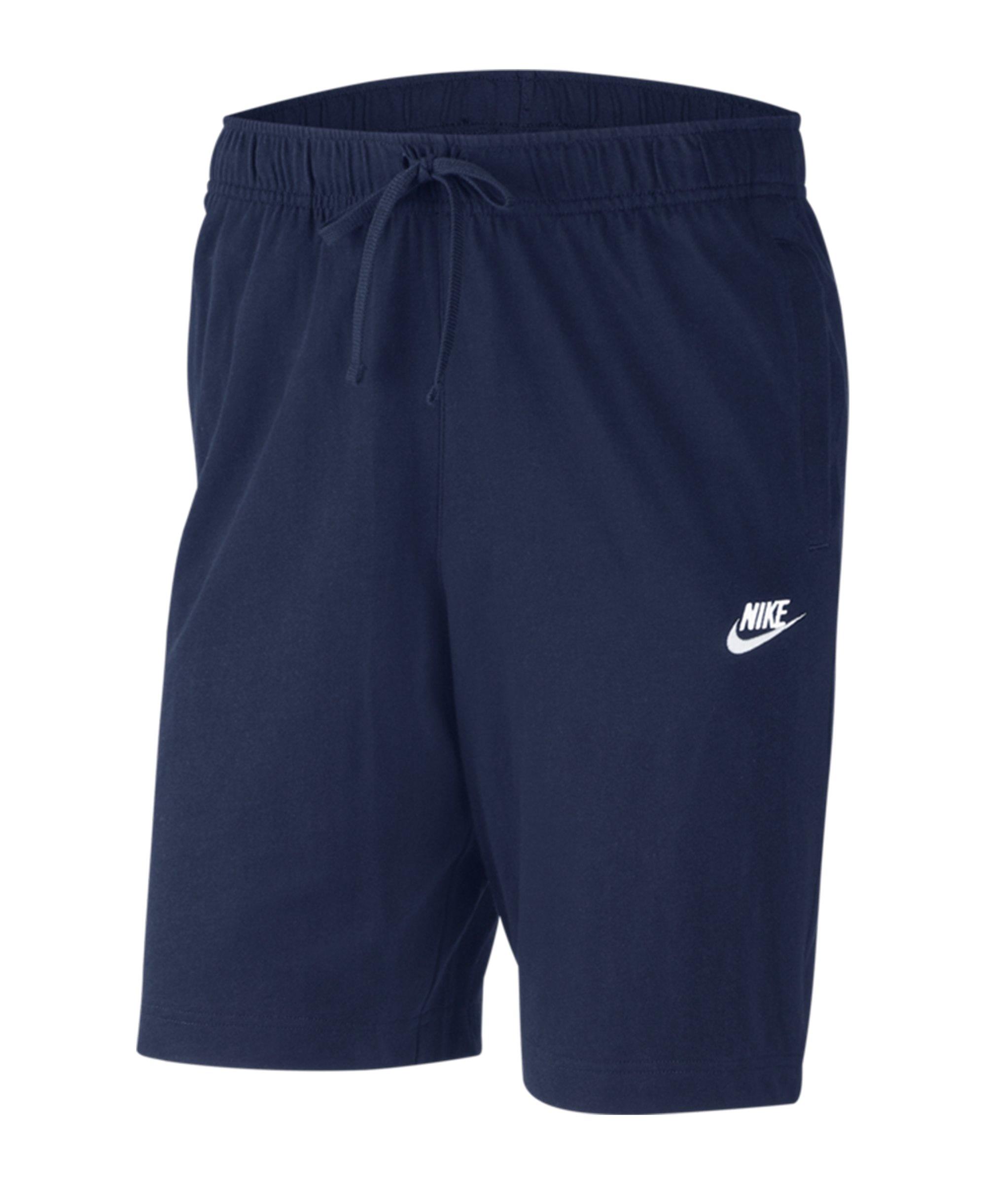 Nike Club Jersey Short Blau F410 - blau