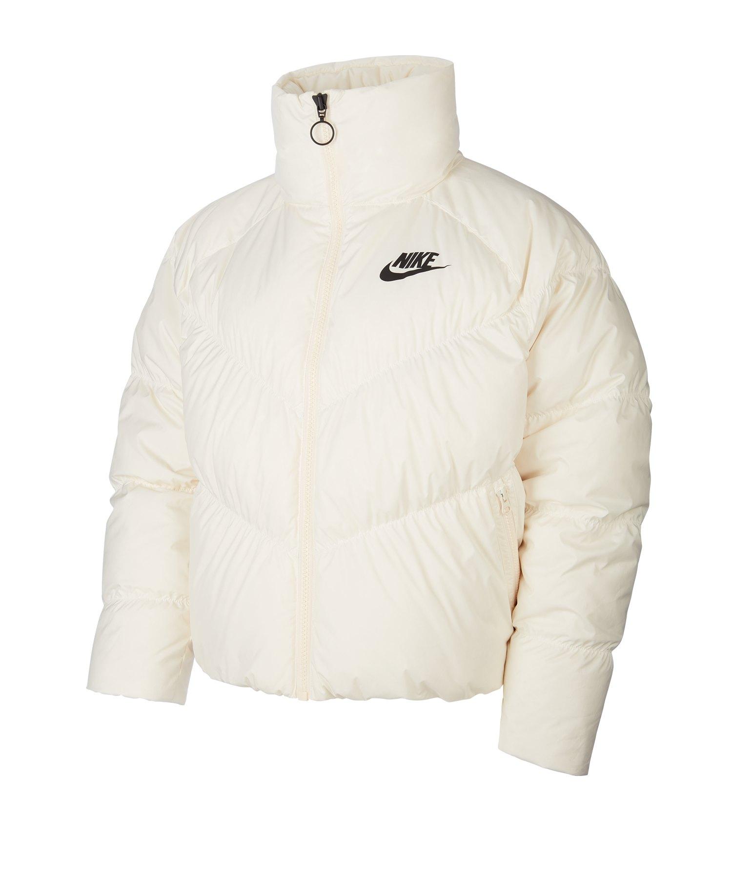 Nike Daunenjacke Damen Weiss F110 - weiss