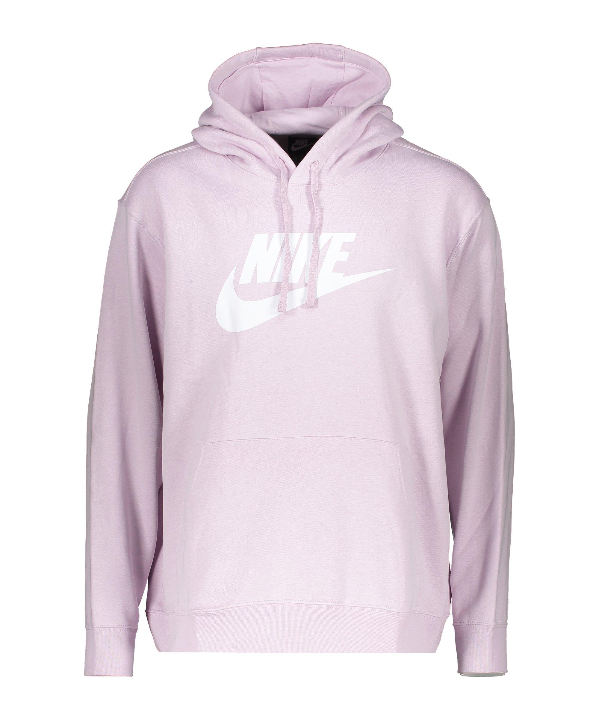 Nike Club Fleece Hoody Lila F576 - lila