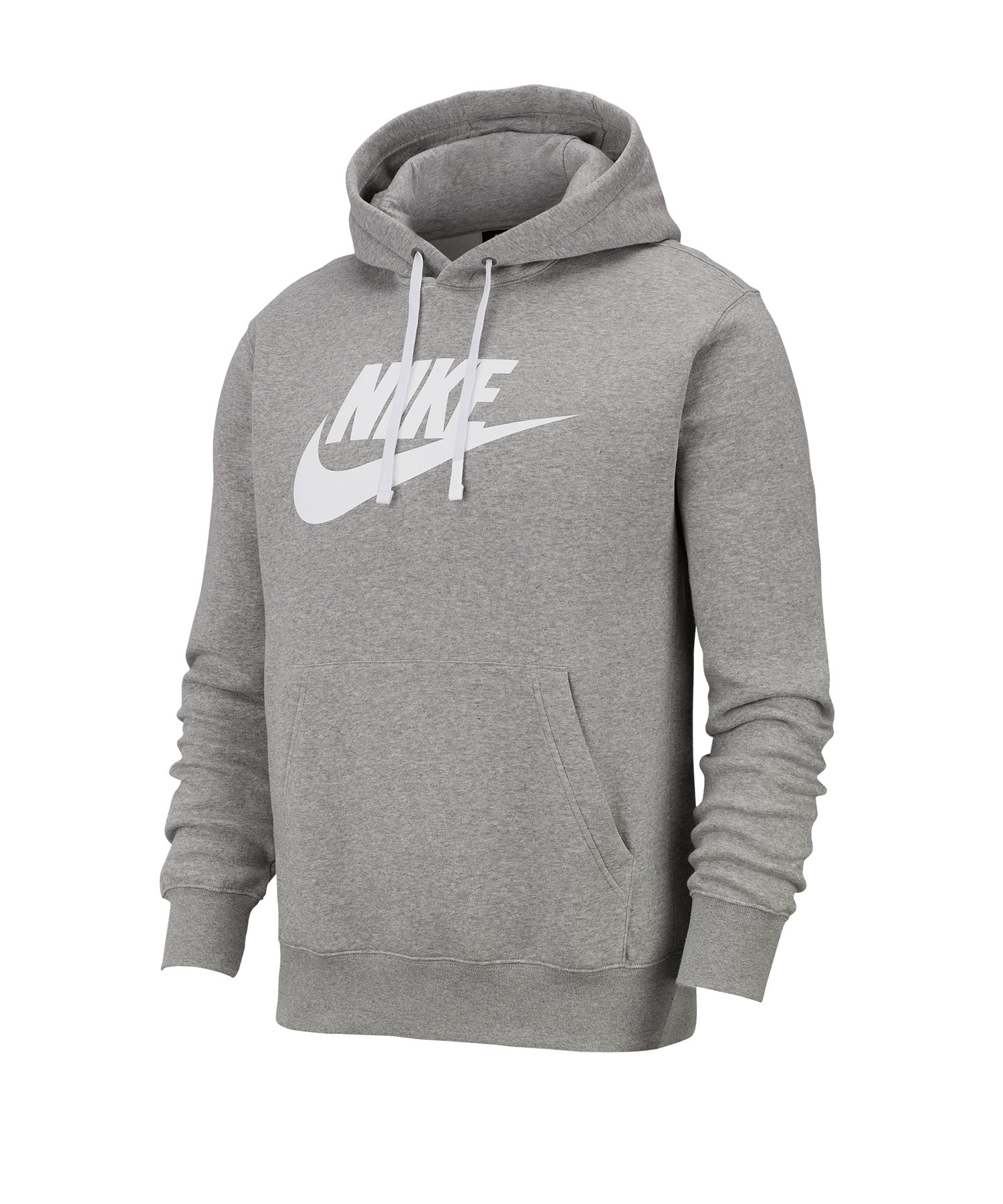 Nike Fleece Kapuzensweatshirt Hoody Grau F063 - grau