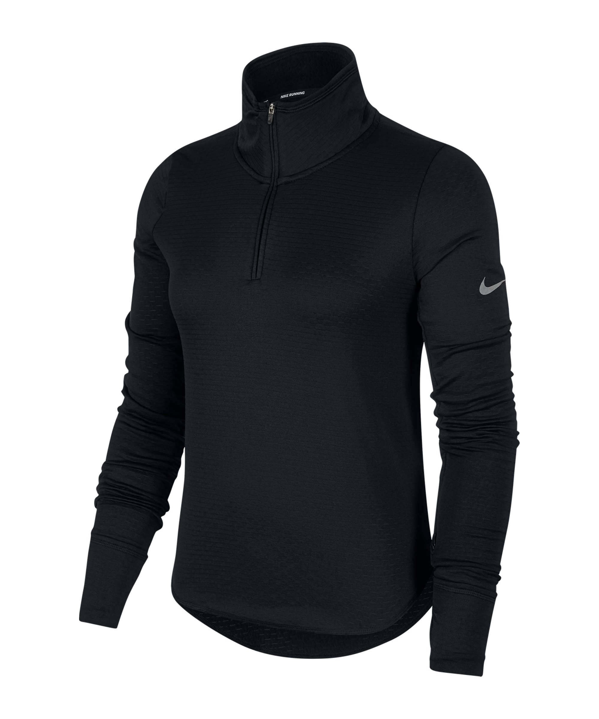 Nike Sphere Element 1/2 Zip Top Running Damen F010 - schwarz