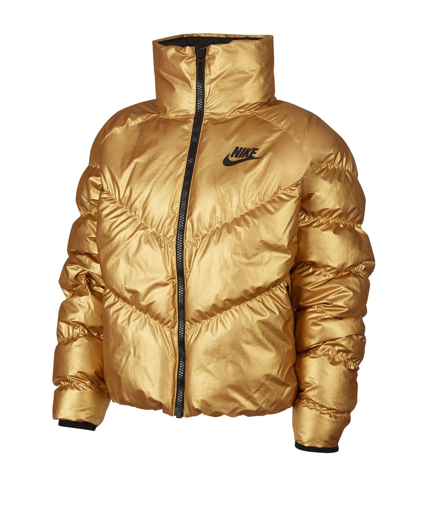 Nike Daunenwinterjacke Damen F707 - gelb