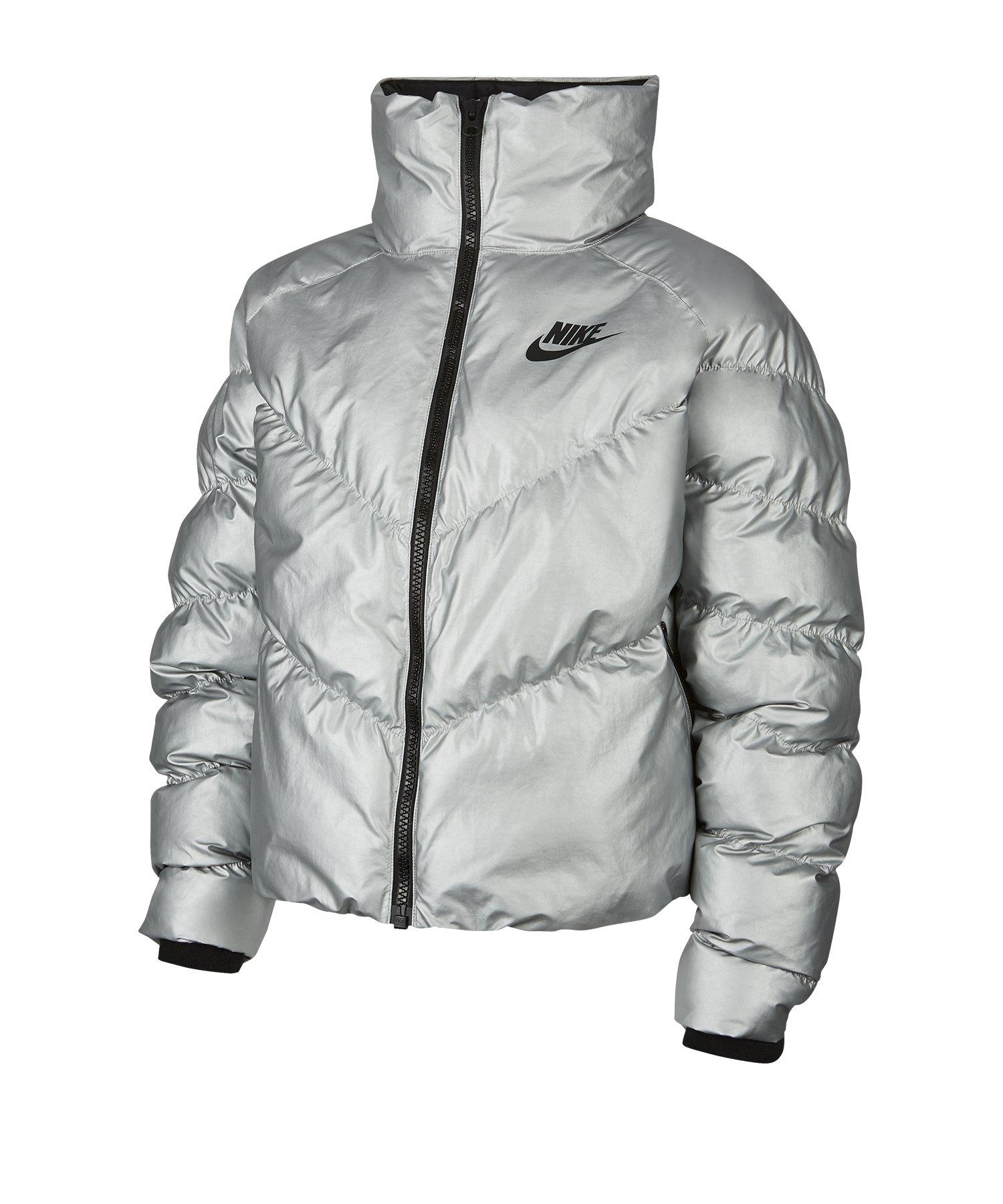 Nike Winterjacke Damen Grau F095 - grau