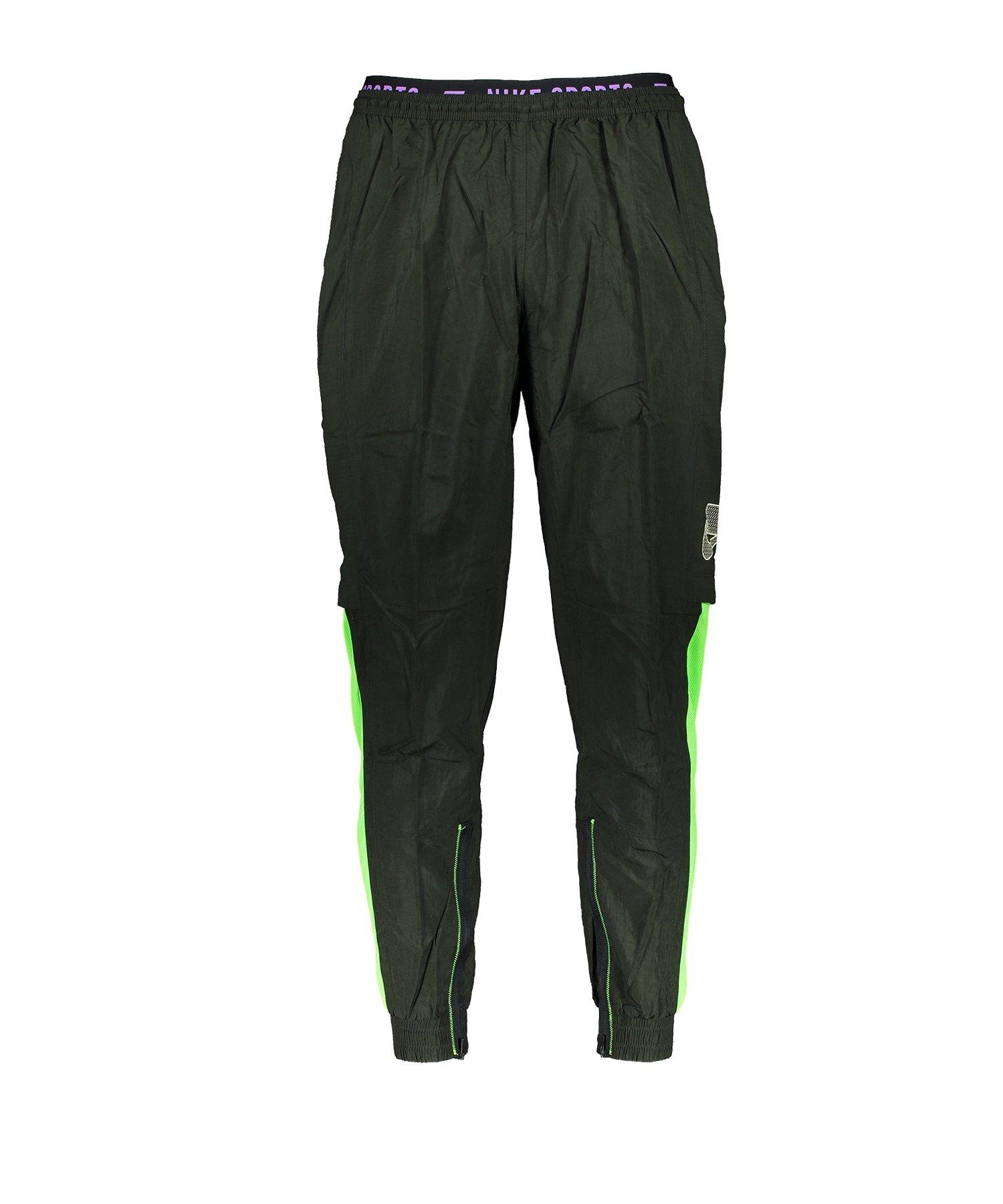 Nike 3-Season Pant Trainingshose Running Grün F355 - gruen
