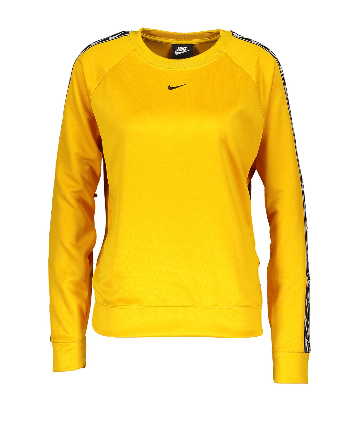 Nike Crew Logo Longsleeve Damen Gelb F743 - gelb