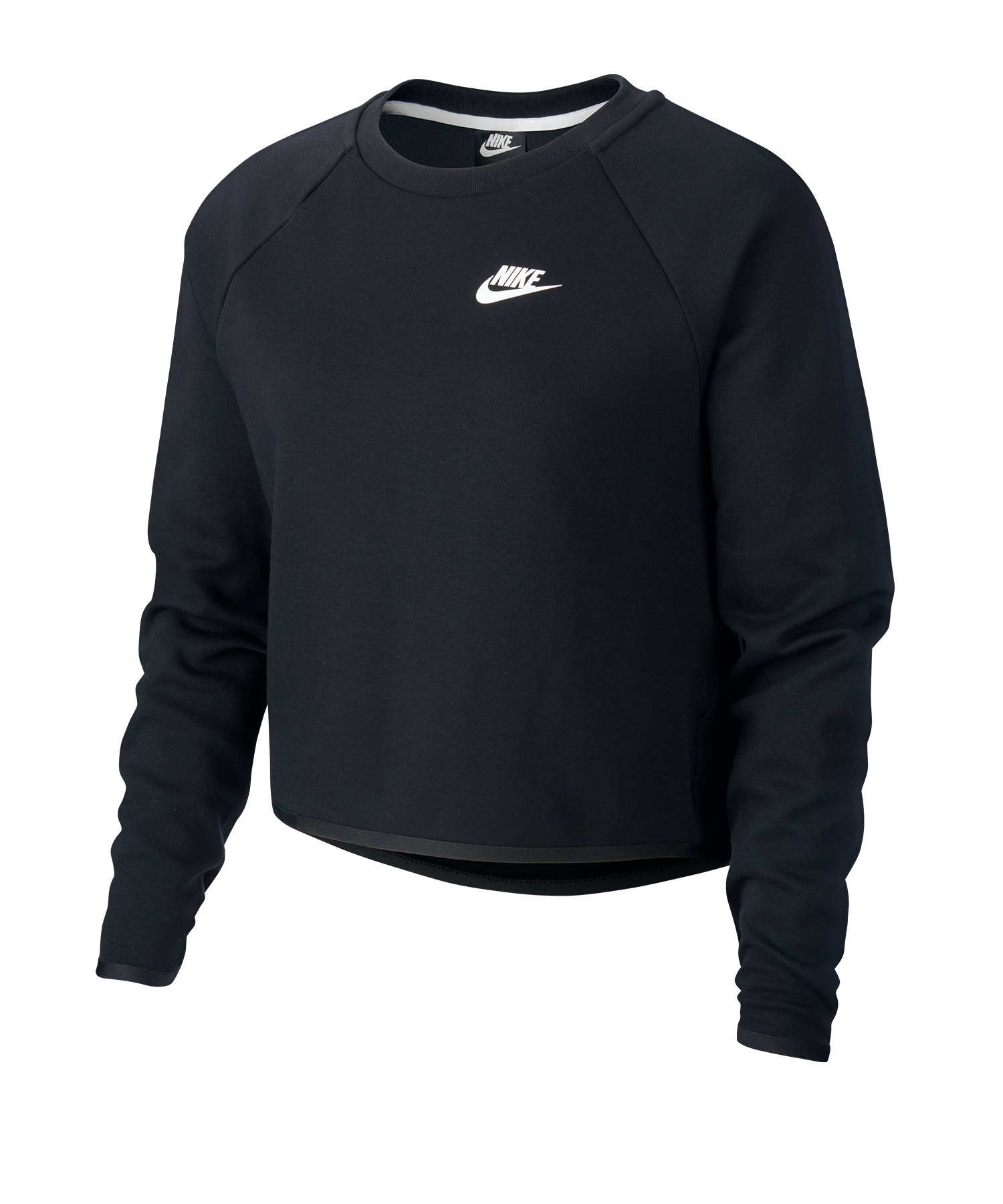 Nike Tech Crew Fleece Longsleeve Damen F010 - schwarz
