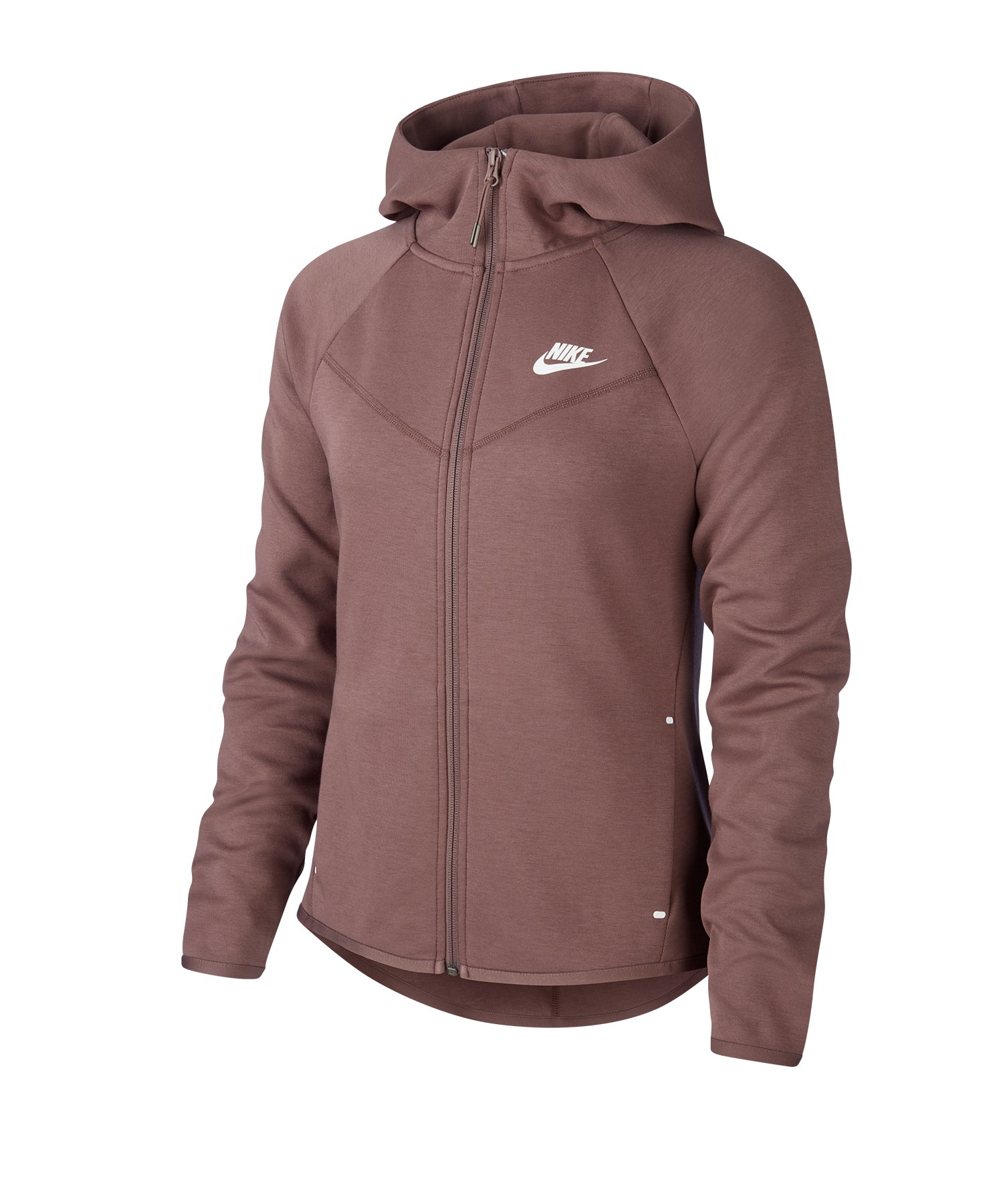 Nike Tech Fleece Windrunner Hoody Damen Braun F291 - braun