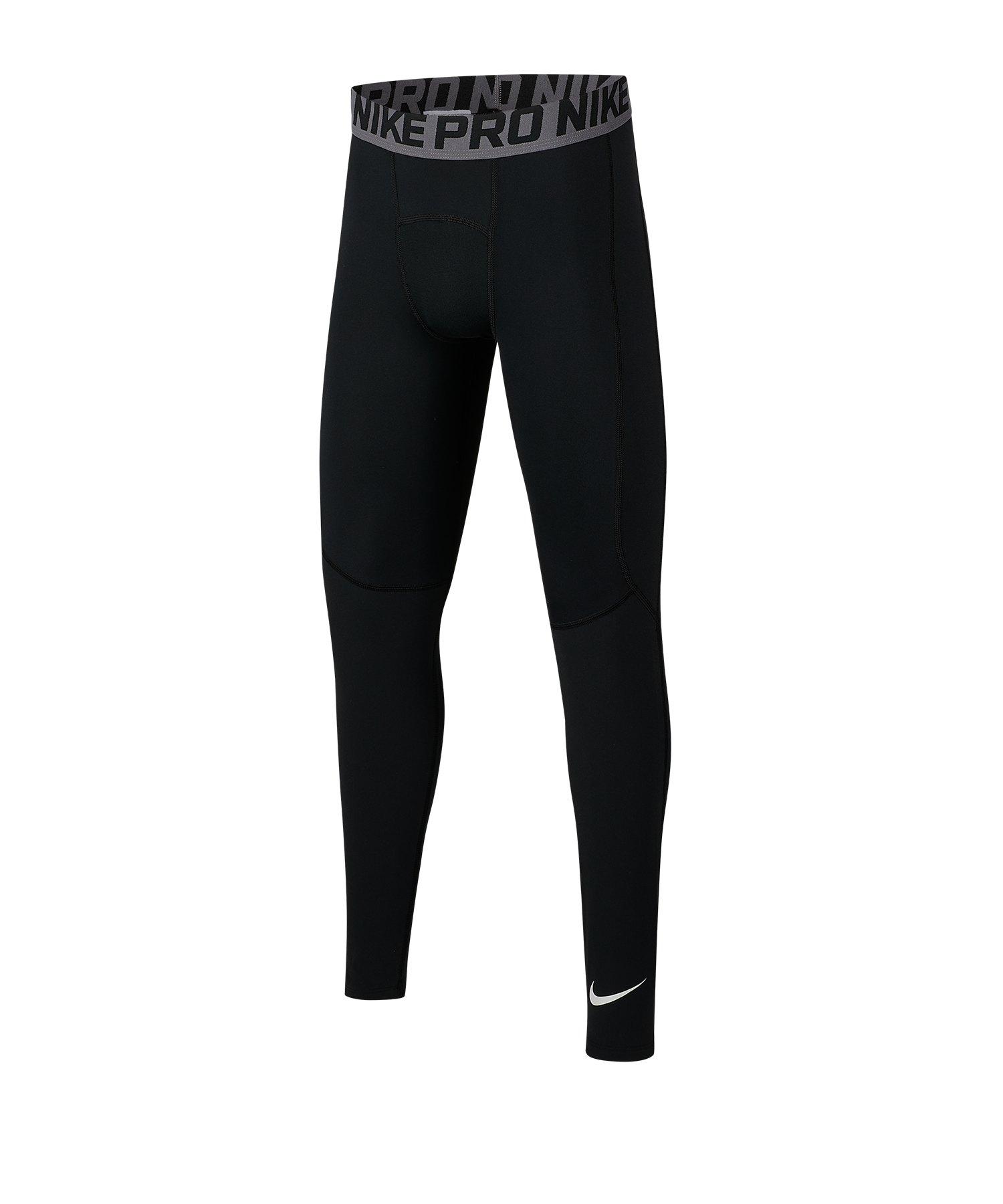 Nike Pro Training Tights Kids Schwarz F010 - schwarz