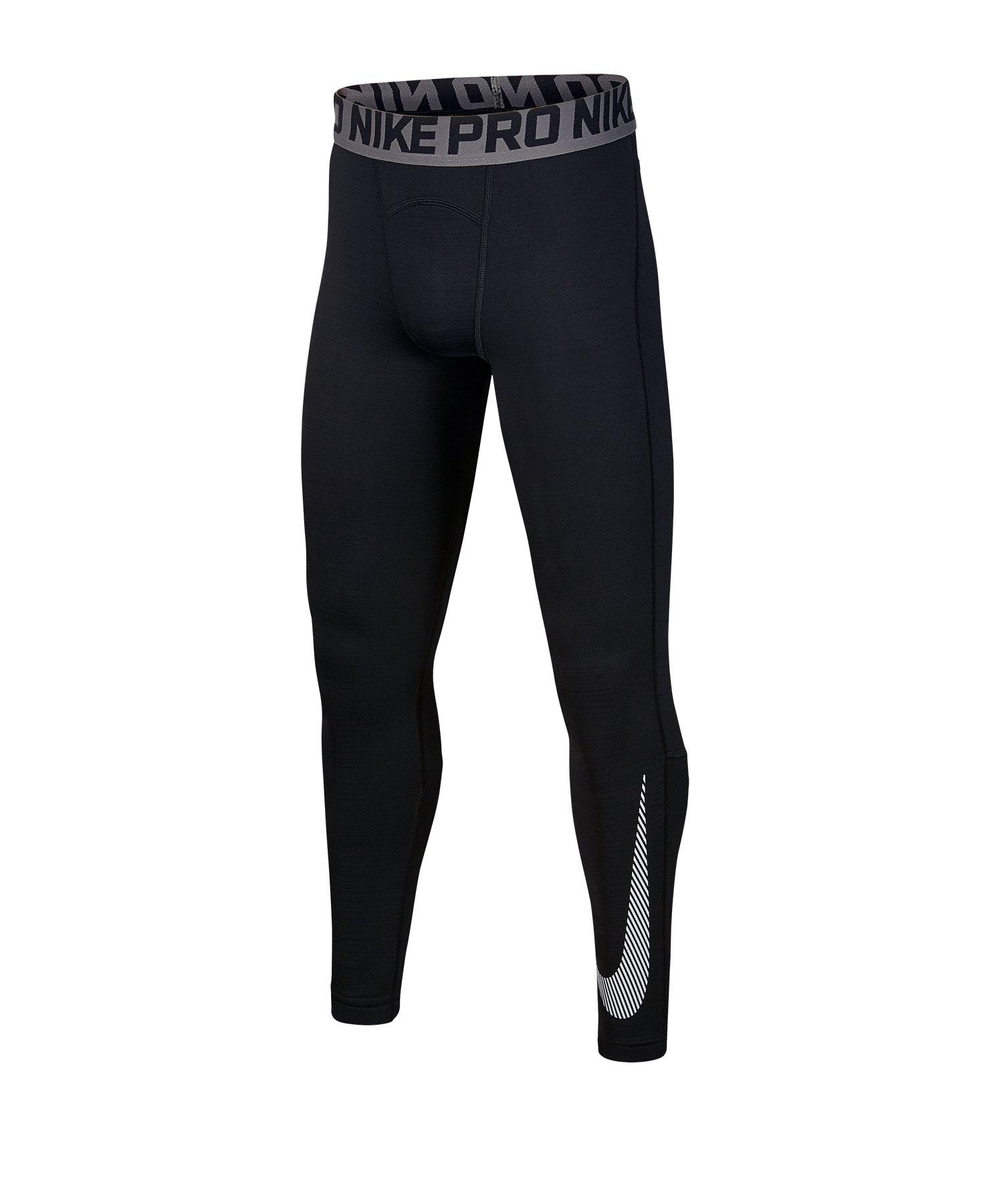 Nike Dri-FIT Therma Training Tight Schwarz F010 - schwarz