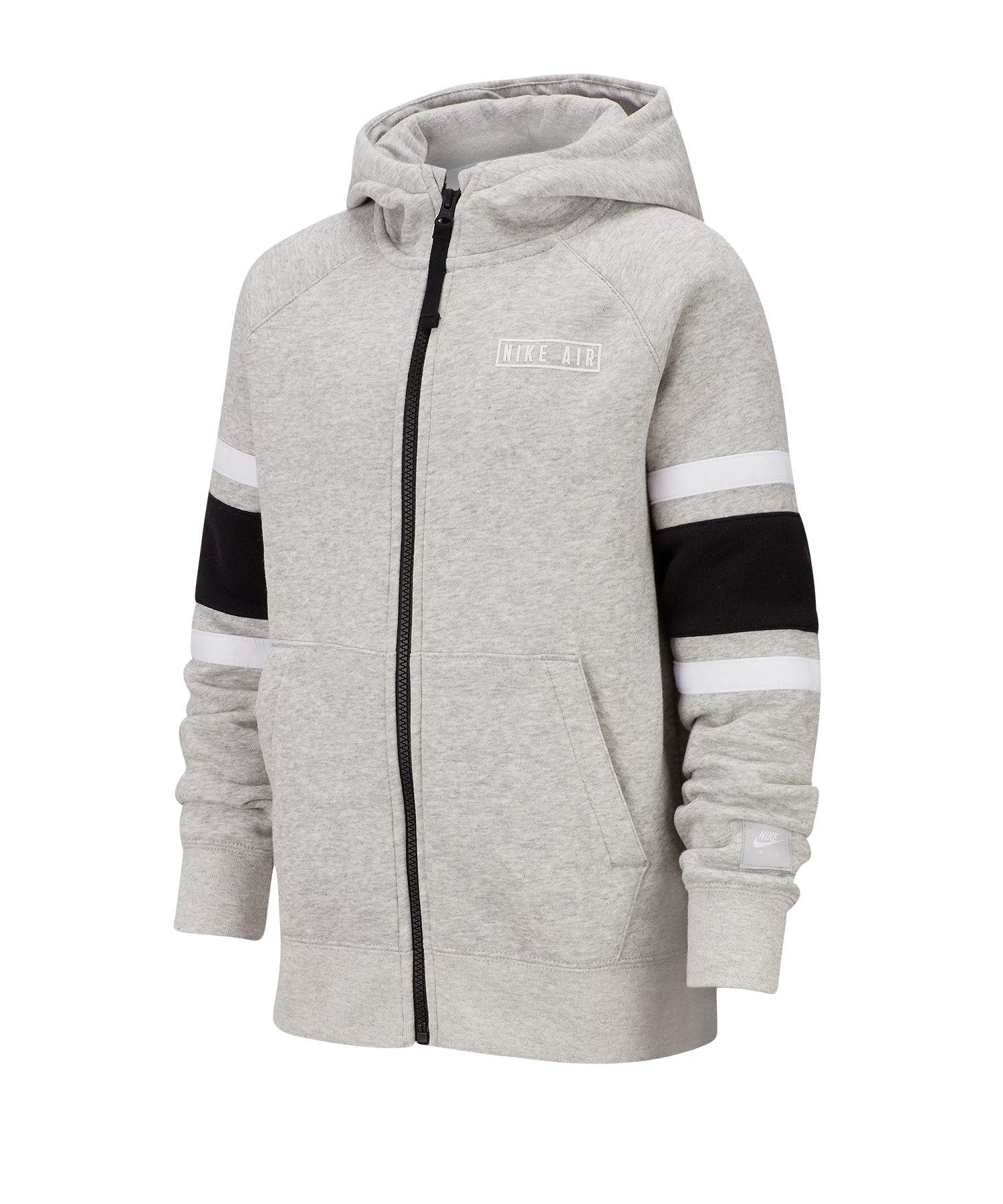 Nike Air Full-Zip Hoody Kapuzenpullover Kids F050 - grau