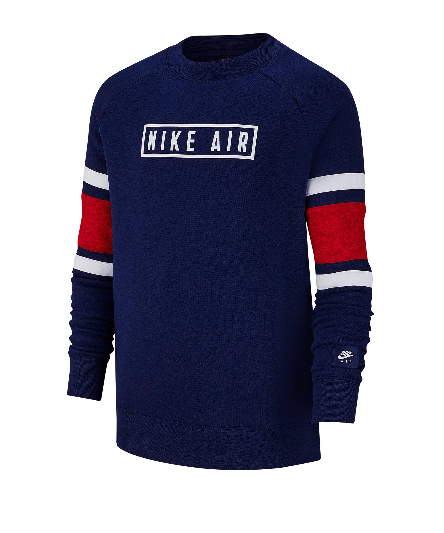 Nike Air Crew Longsleeve Kids Blau F492 - blau