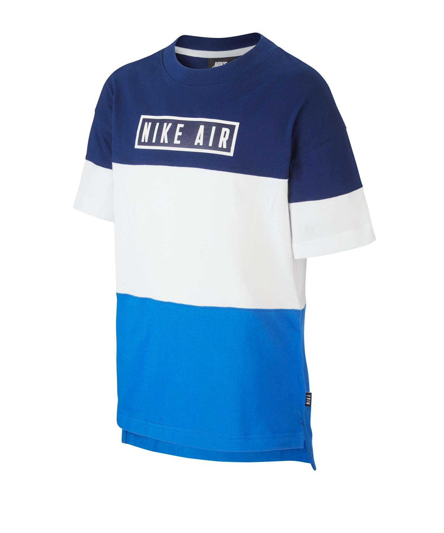 Nike Air Tee Top kurzarm Kids Blau F492 - blau