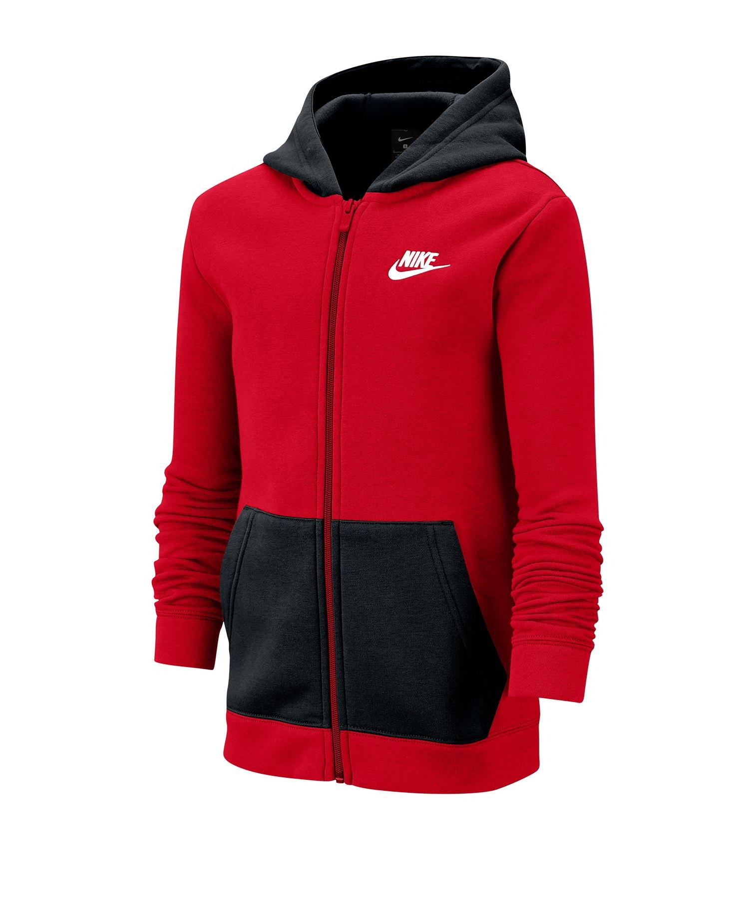 Nike Tracksuit Trainingsanzug Kids Rot F657 - rot
