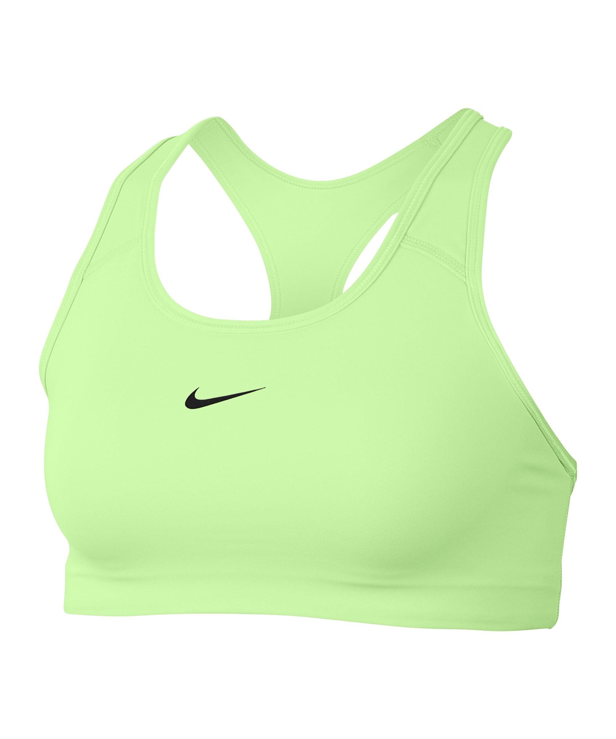 Nike Swoosh Bra Sport-BH Damen Grün F701 - gruen