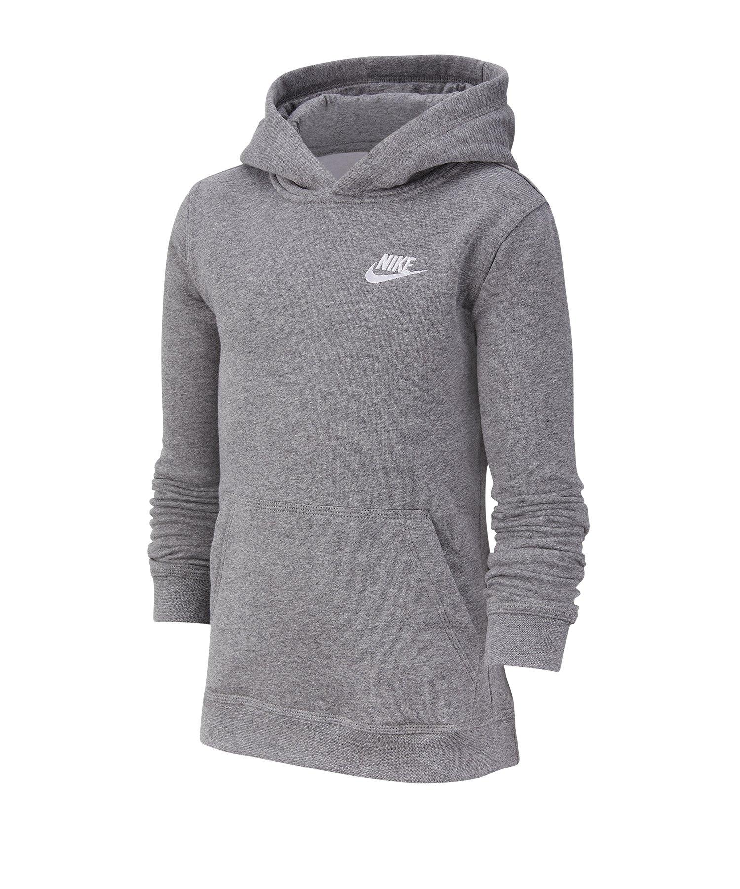 Nike Hoody Sweatshirt Kapuzenpullover Kids F091 - grau