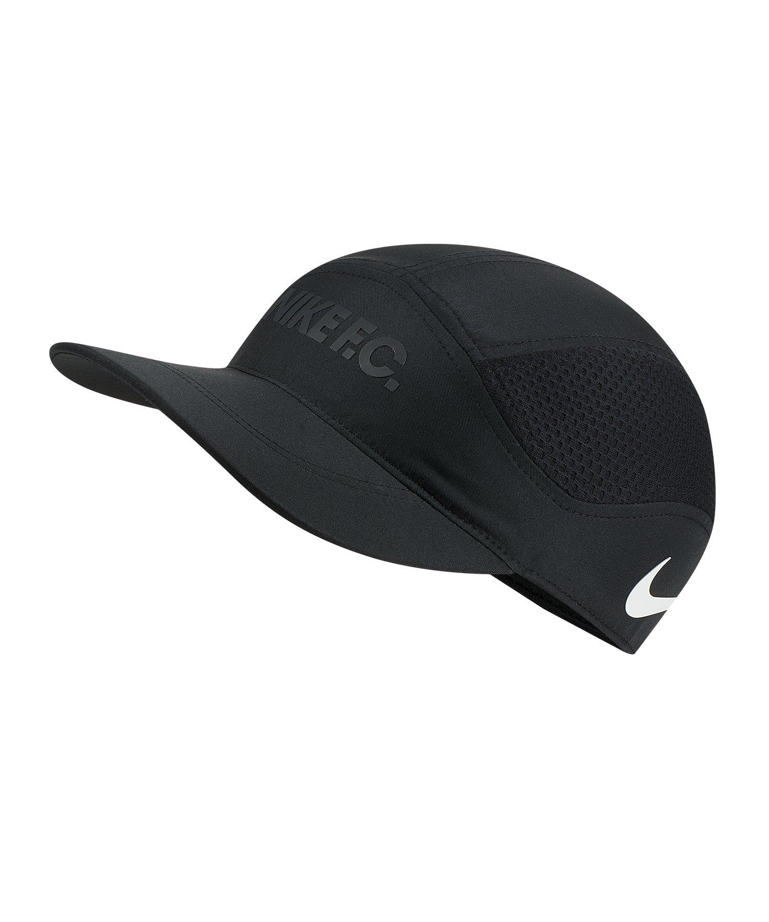 Nike F.C. Aero TLWD Cap Kappe Schwarz F010 - Schwarz