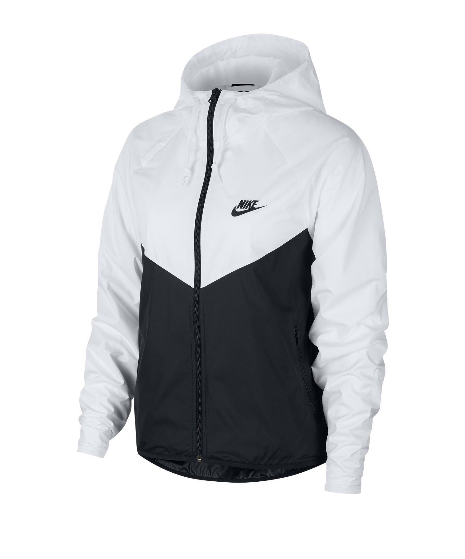 Nike Full-Zip Windrunner Jacke Damen F101 - weiss