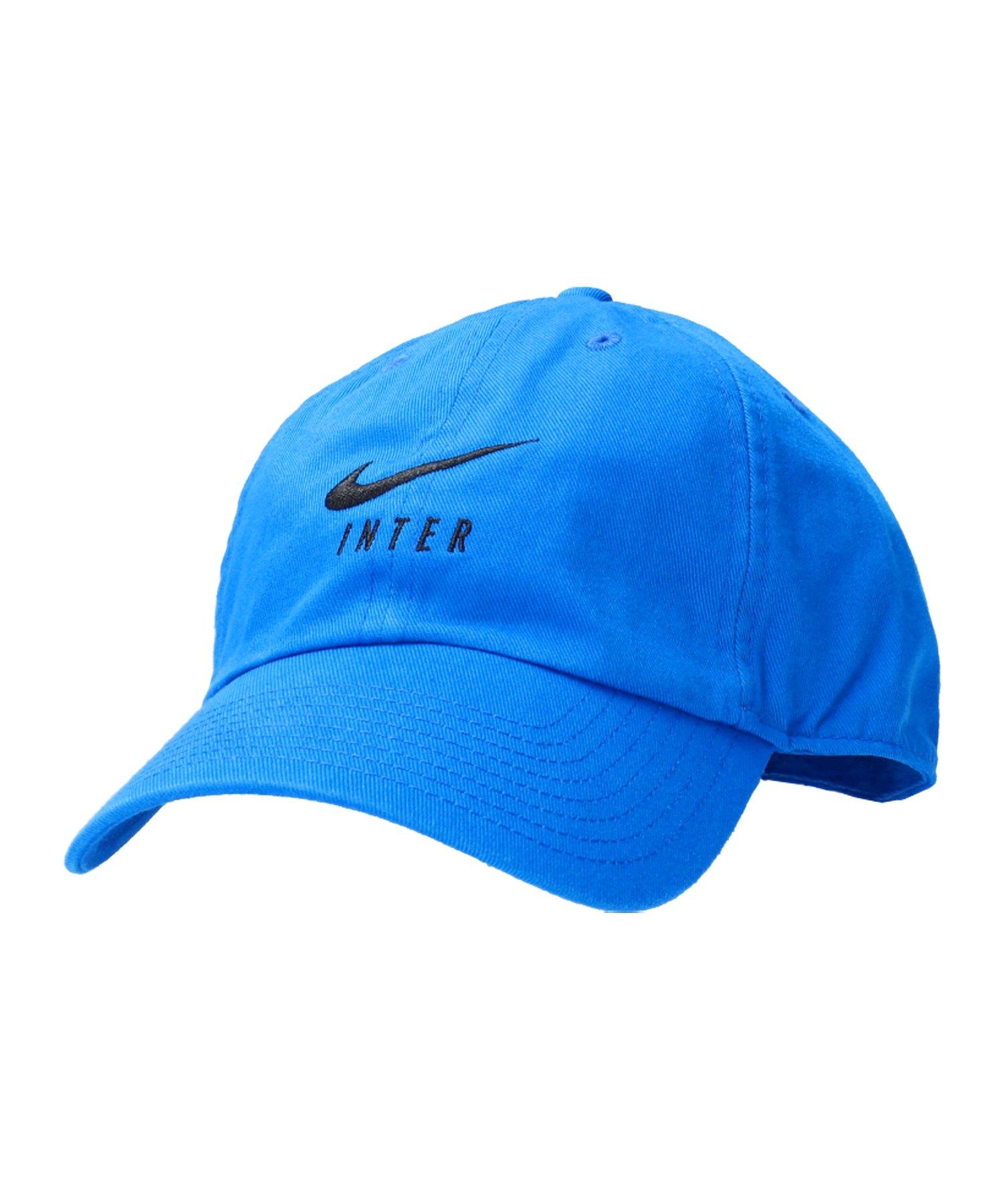 Nike Inter Mailand H86 Cap Mütze F413 - blau