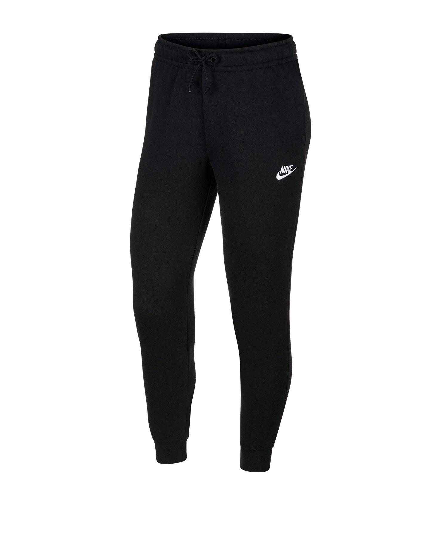 Nike Essential Fleece Jogginghose Damen F010 - schwarz
