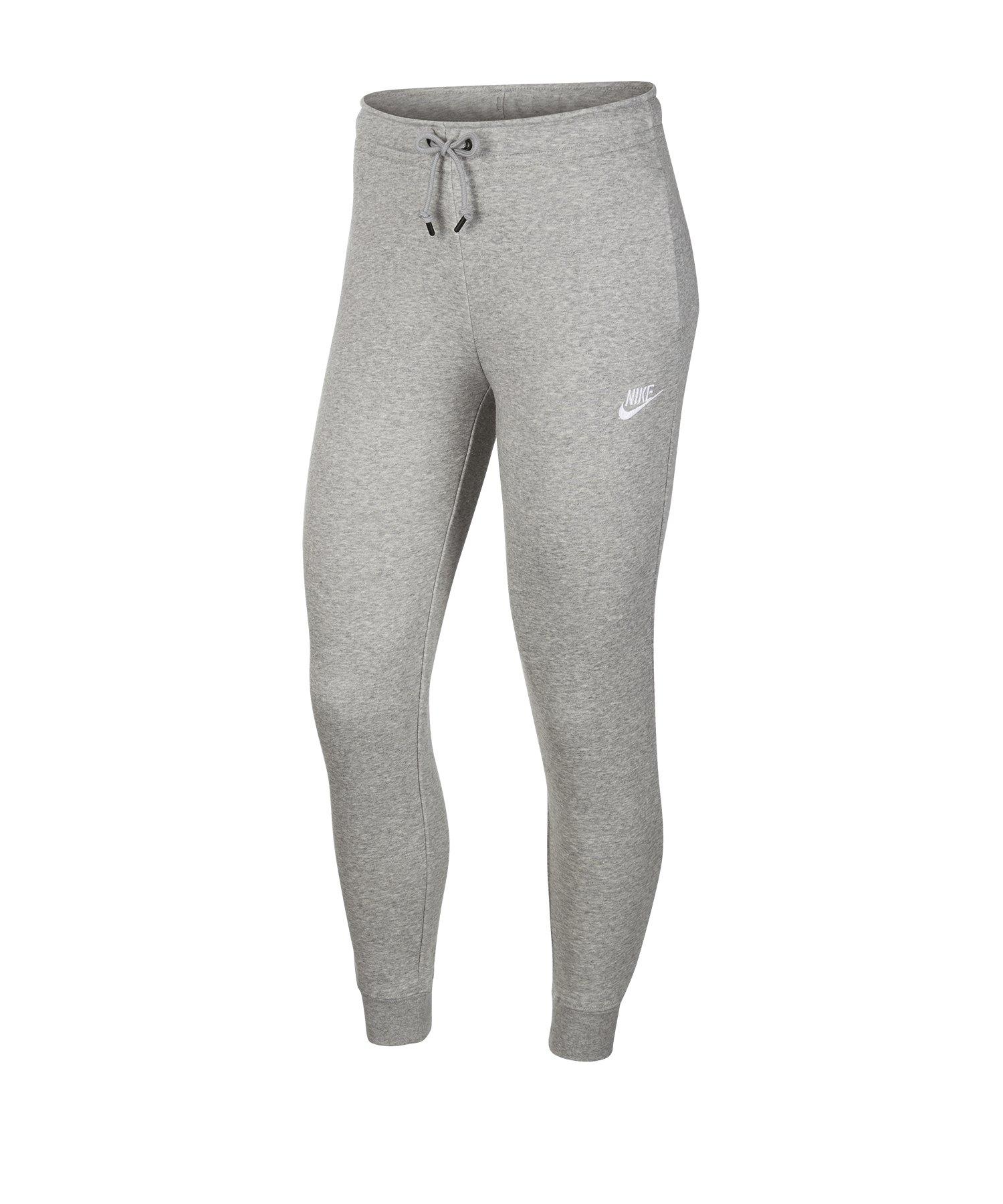 Nike Essential Fleece Jogginghose Damen Grau F063 - grau