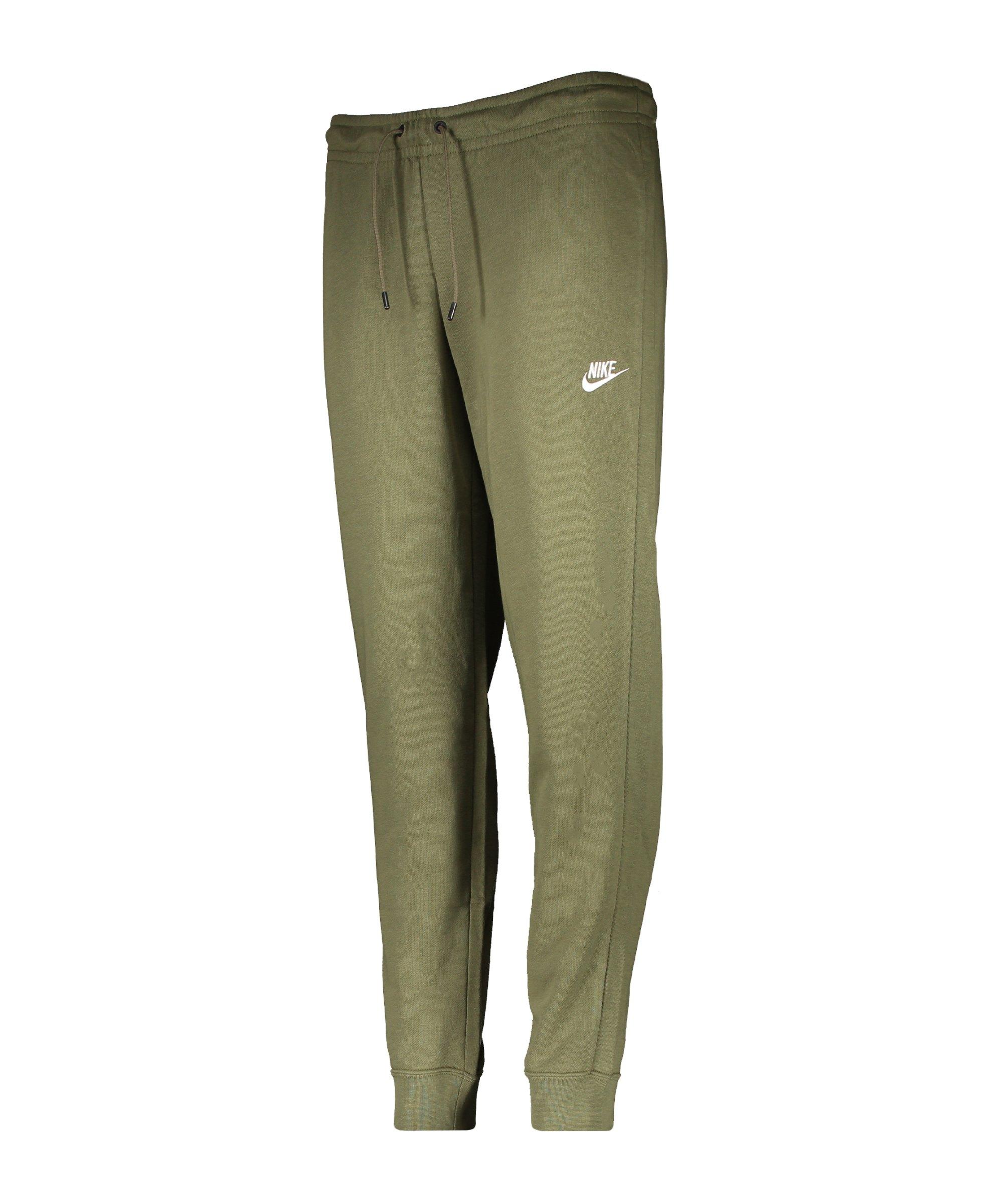 Nike Essential Fleece Jogginghose Damen Grün F222 - gruen
