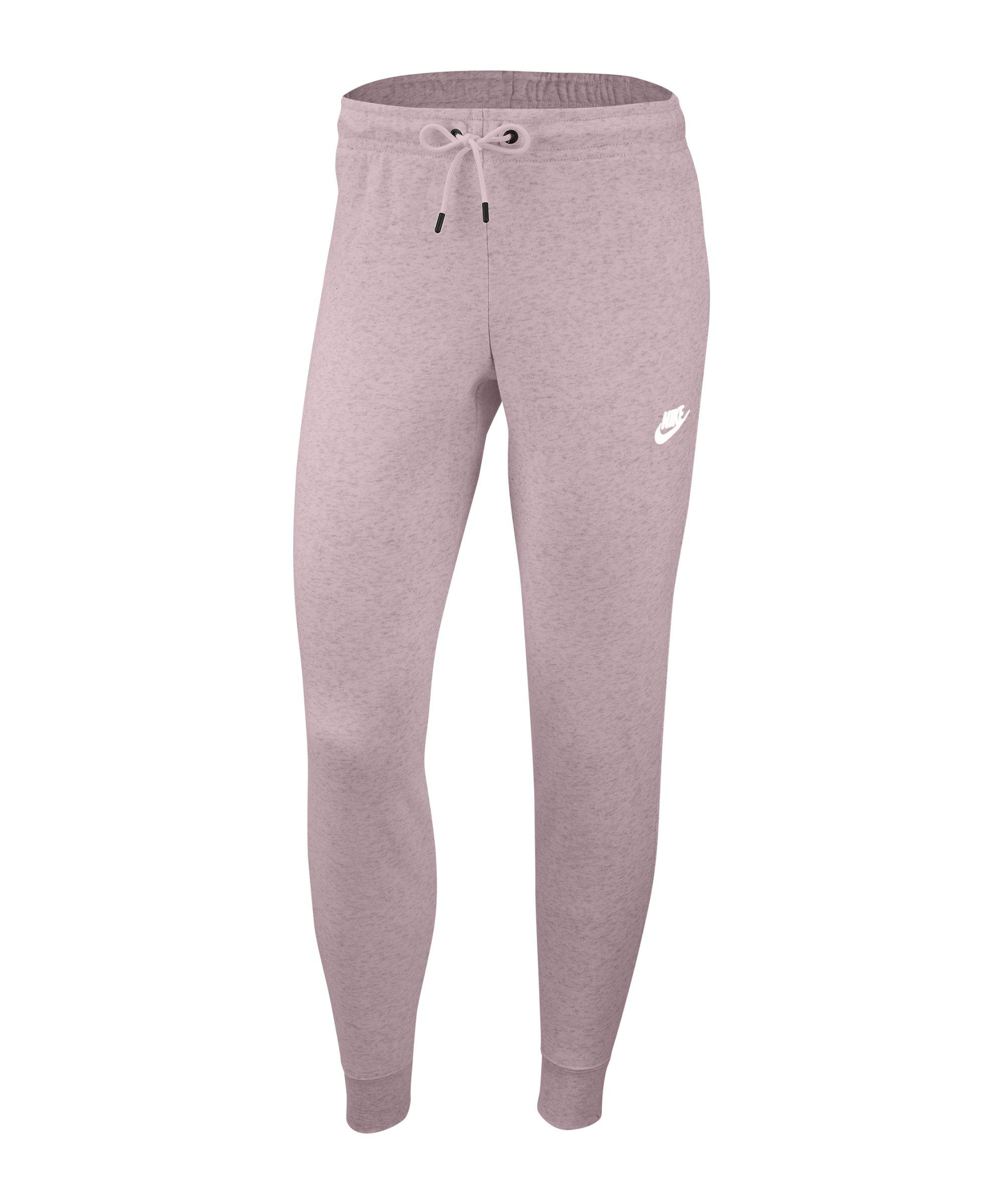 Nike Essential Fleece Jogginghose Damen Rosa F645 - rosa