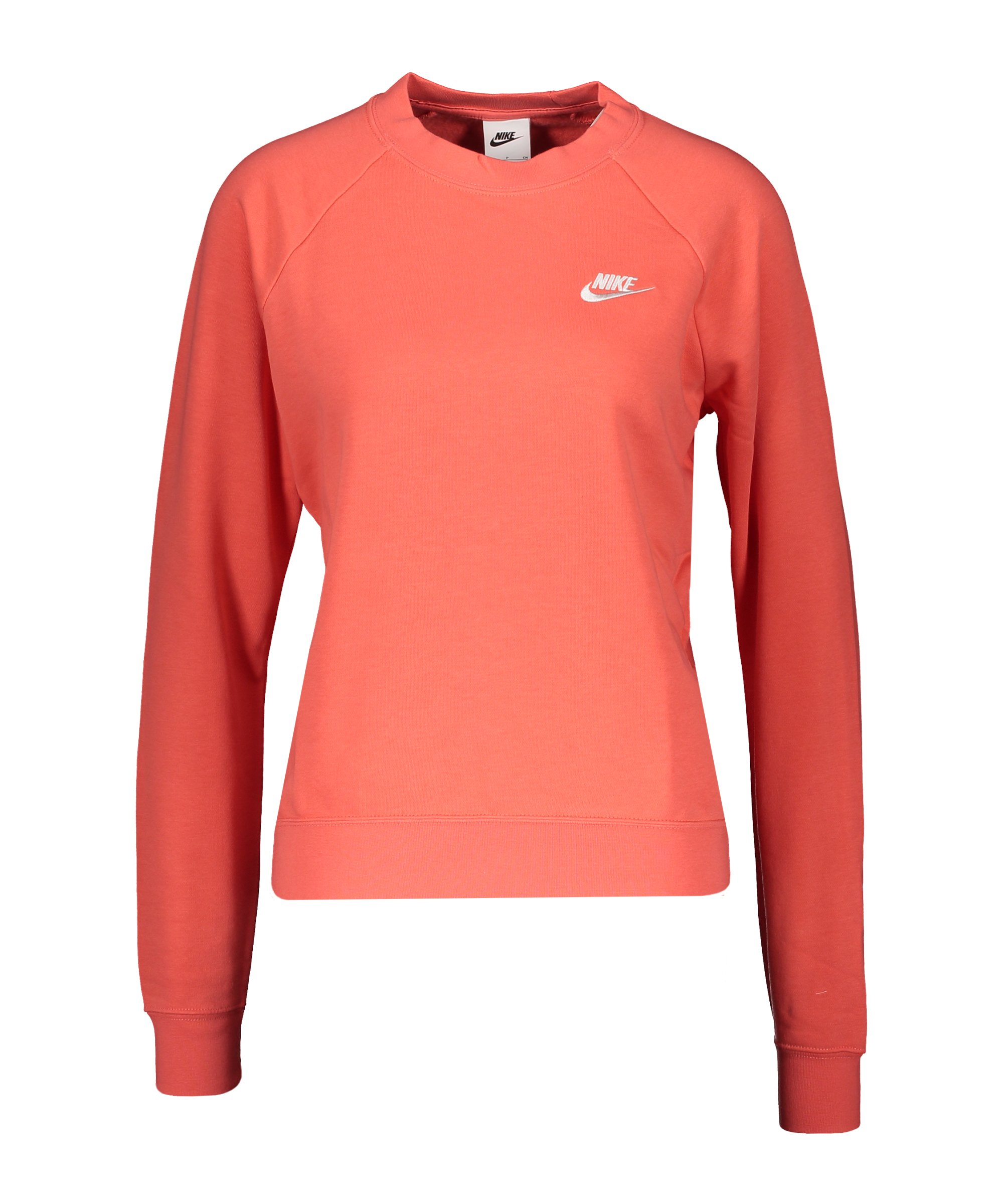 Nike Essential Fleece Sweatshirt Damen Orange F814 - orange