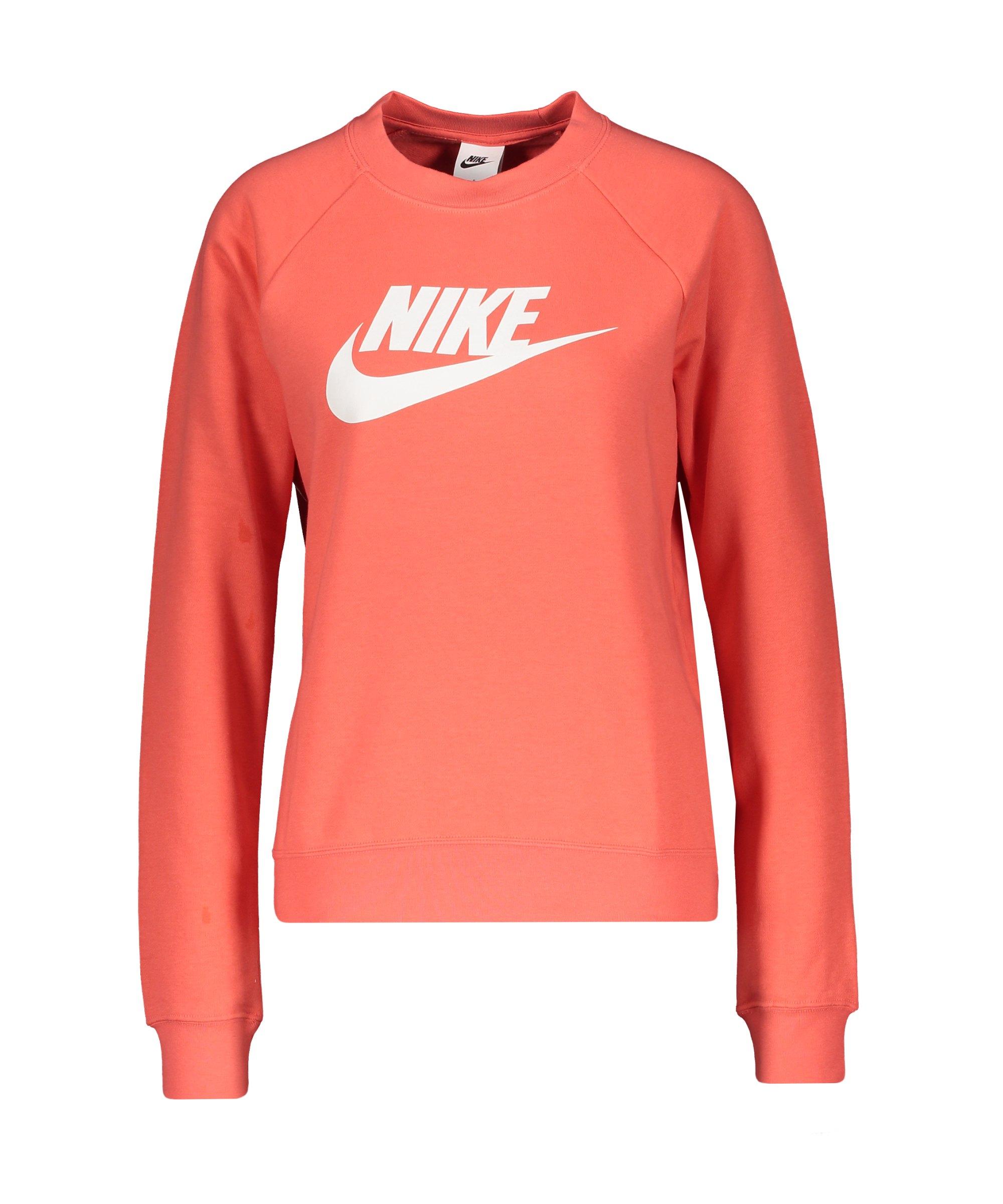 Nike Crew Fleece Sweatshirt Damen Orange F814 - orange