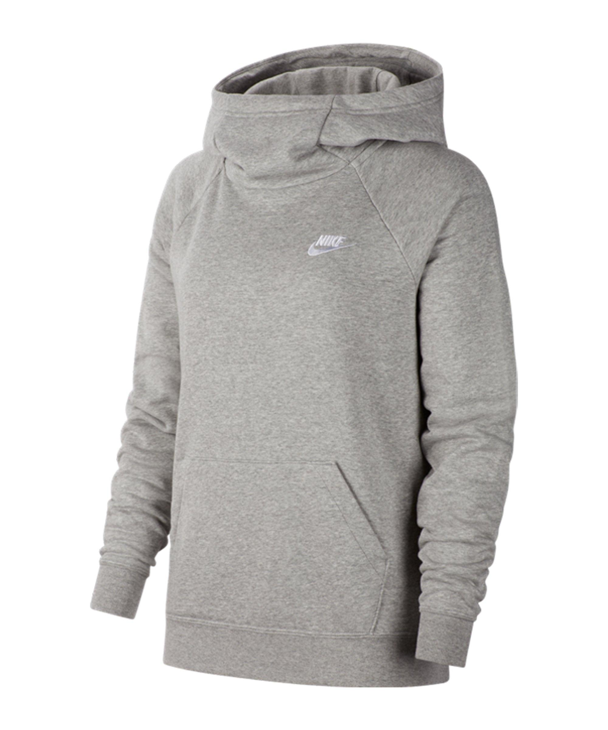 Nike Essential Hoody Damen Grau F063 - grau