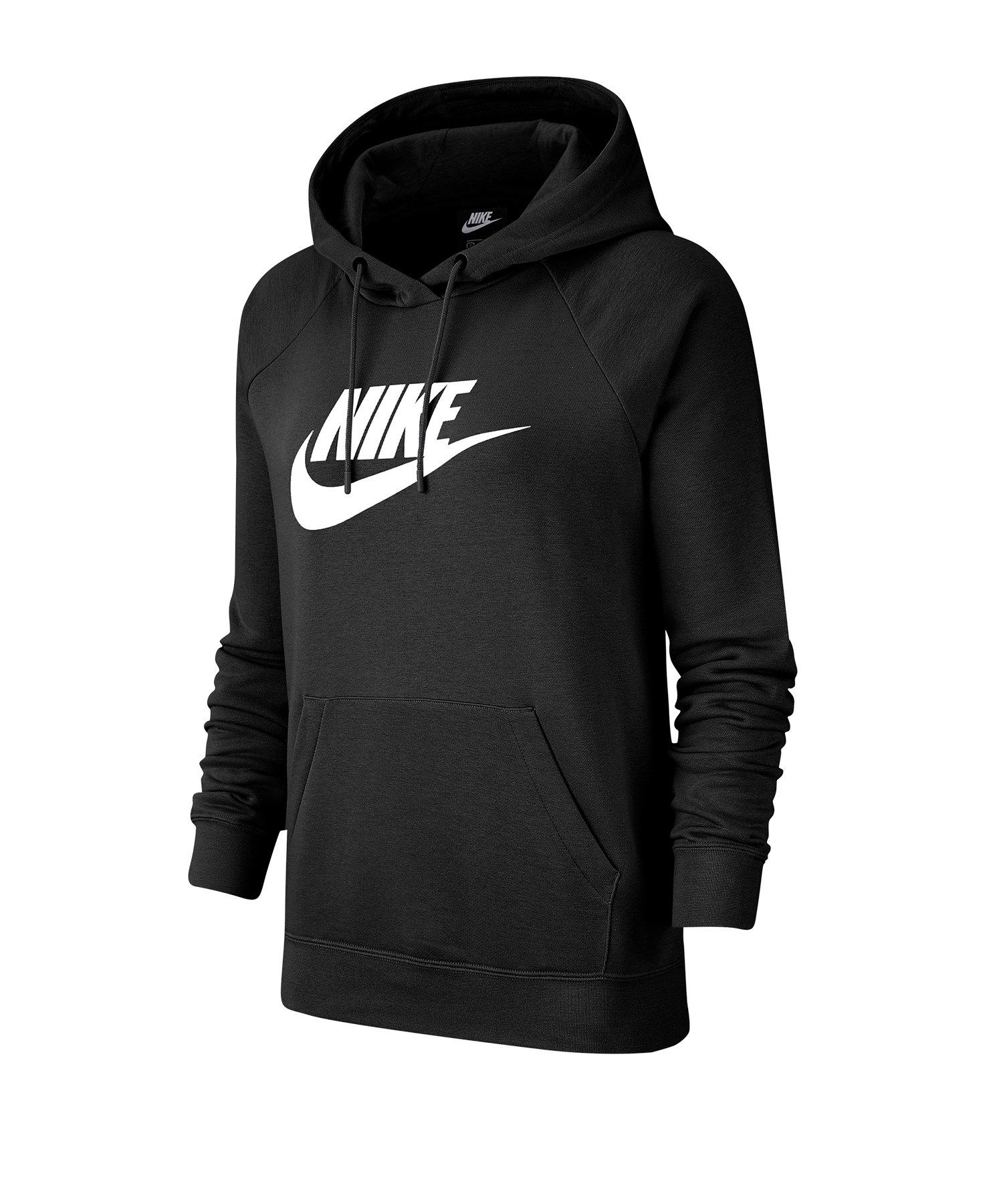 Nike Essential Hoody Damen F010 - schwarz