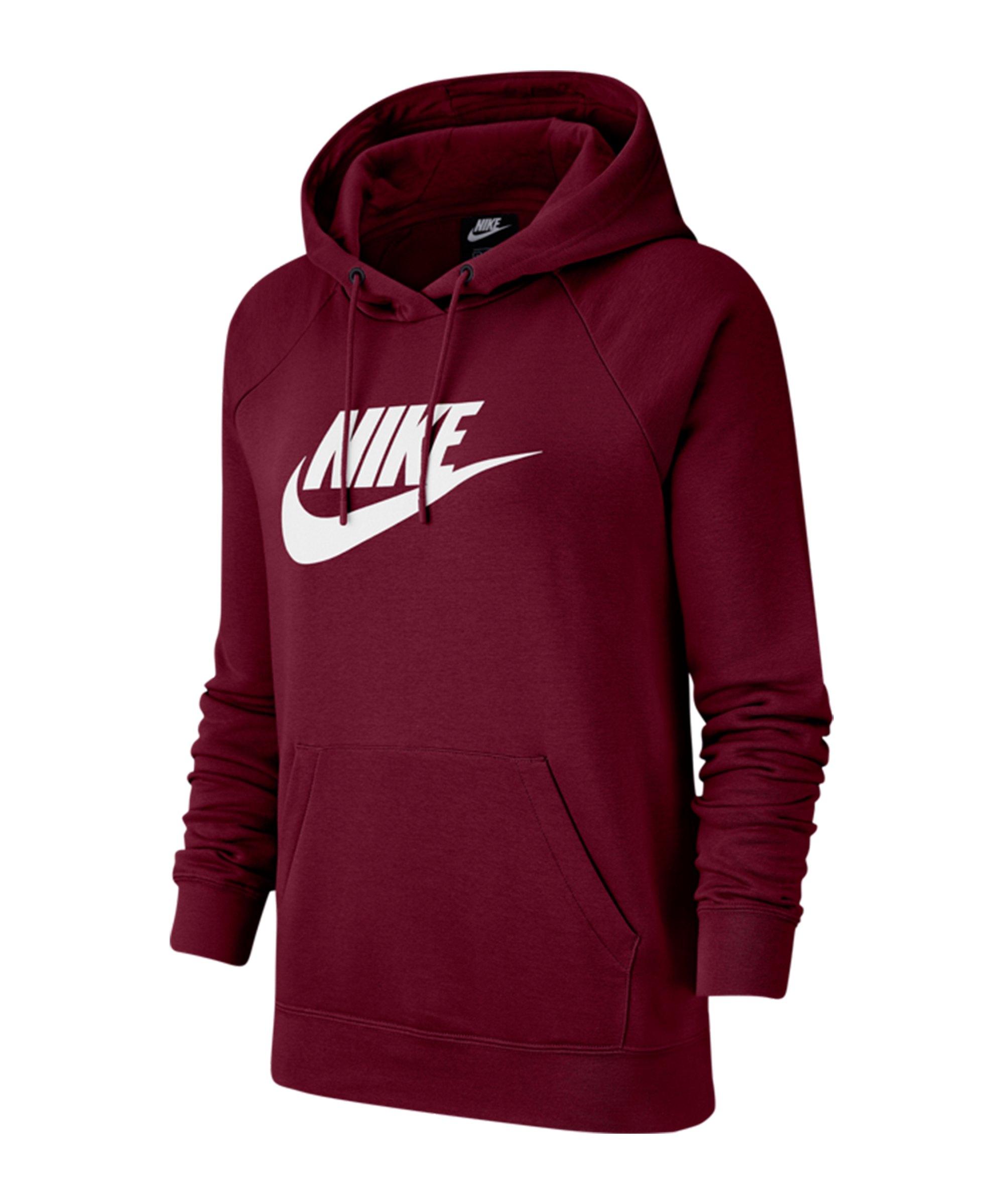 Nike Essential Hoody Damen Rot F638 - rot