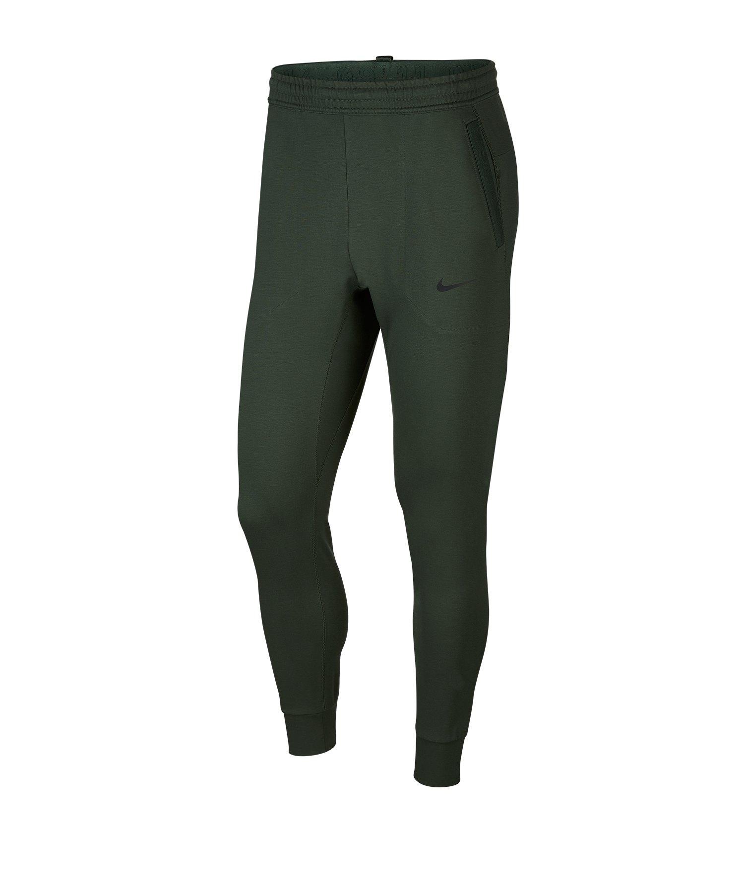 Nike Tech Knit Pant Jogginghose Grün F370 - gruen