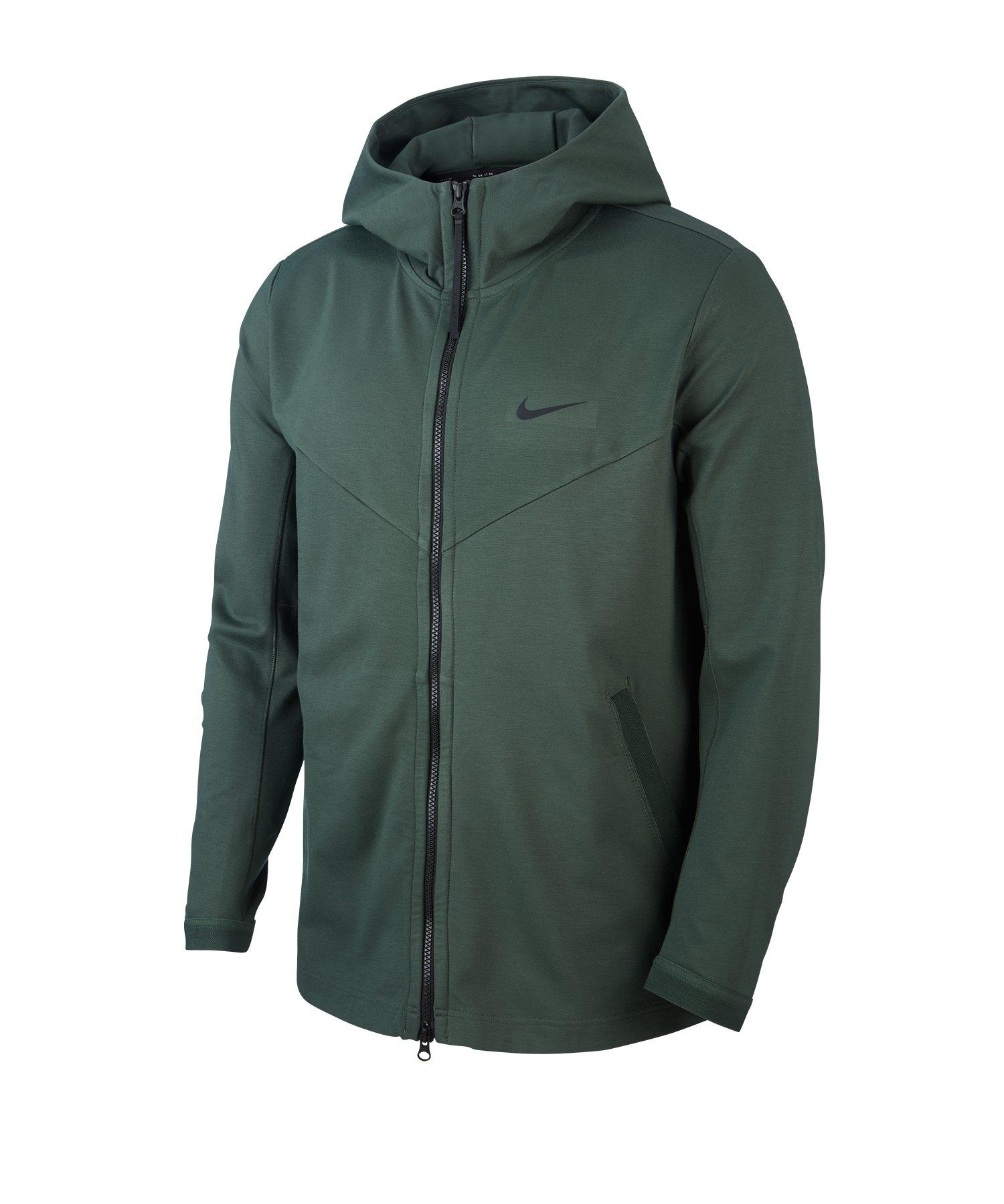 Nike Full-Zip Hooded Jacke Grün F370 - gruen
