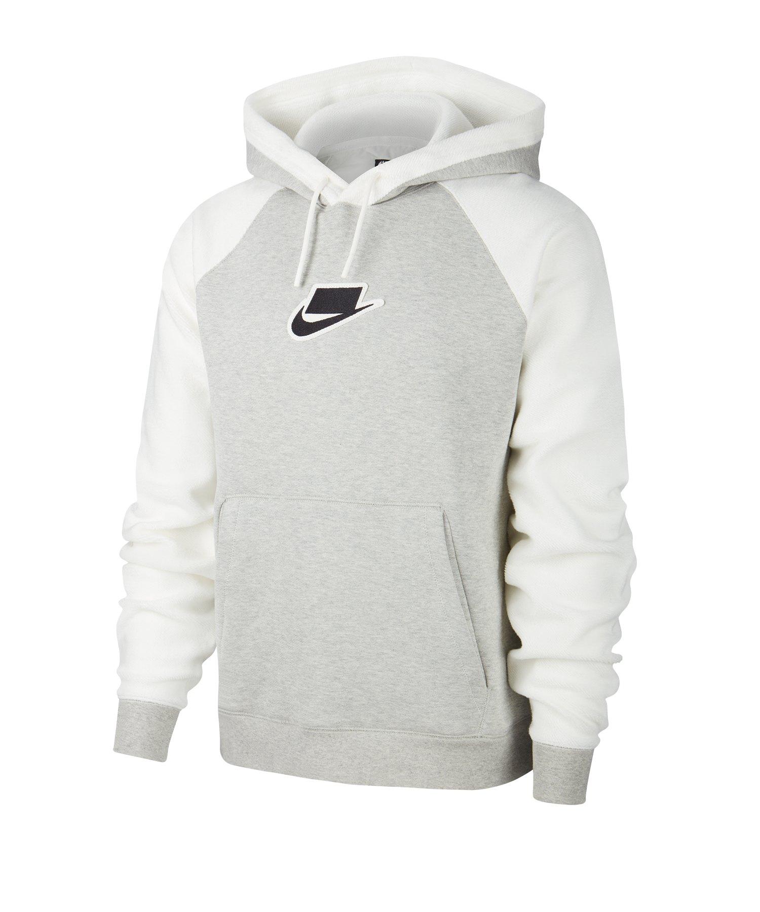 Nike Kapuzensweatshirt Hoody Grau F050 - grau