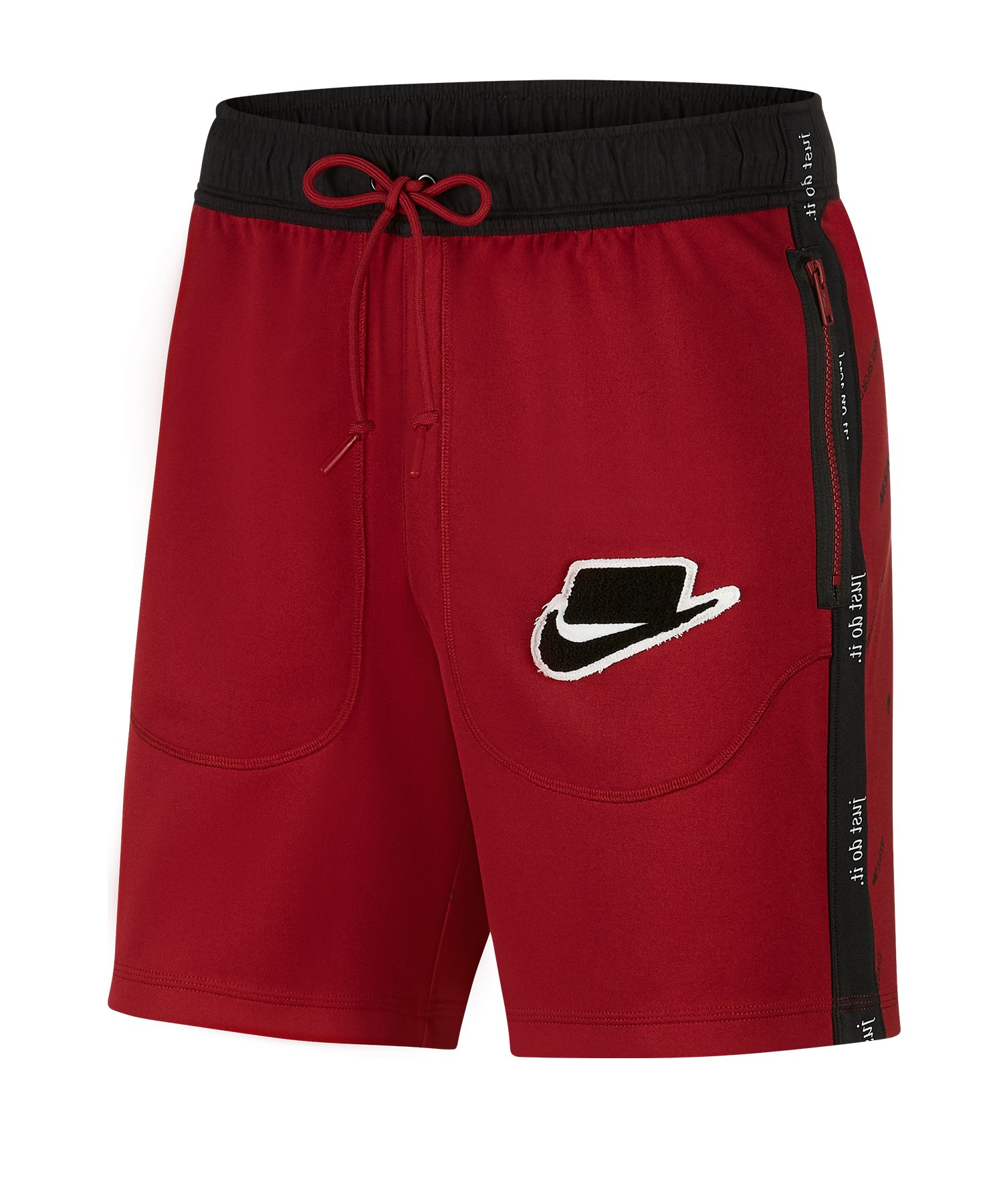 Nike Casual Short Rot F677 - rot