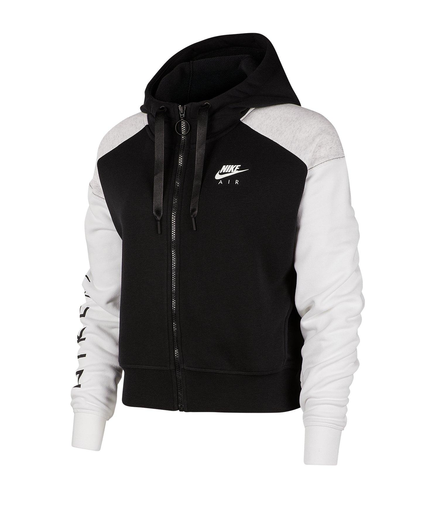 Nike Air Kapuzenjacke Damen Schwarz F010 - schwarz
