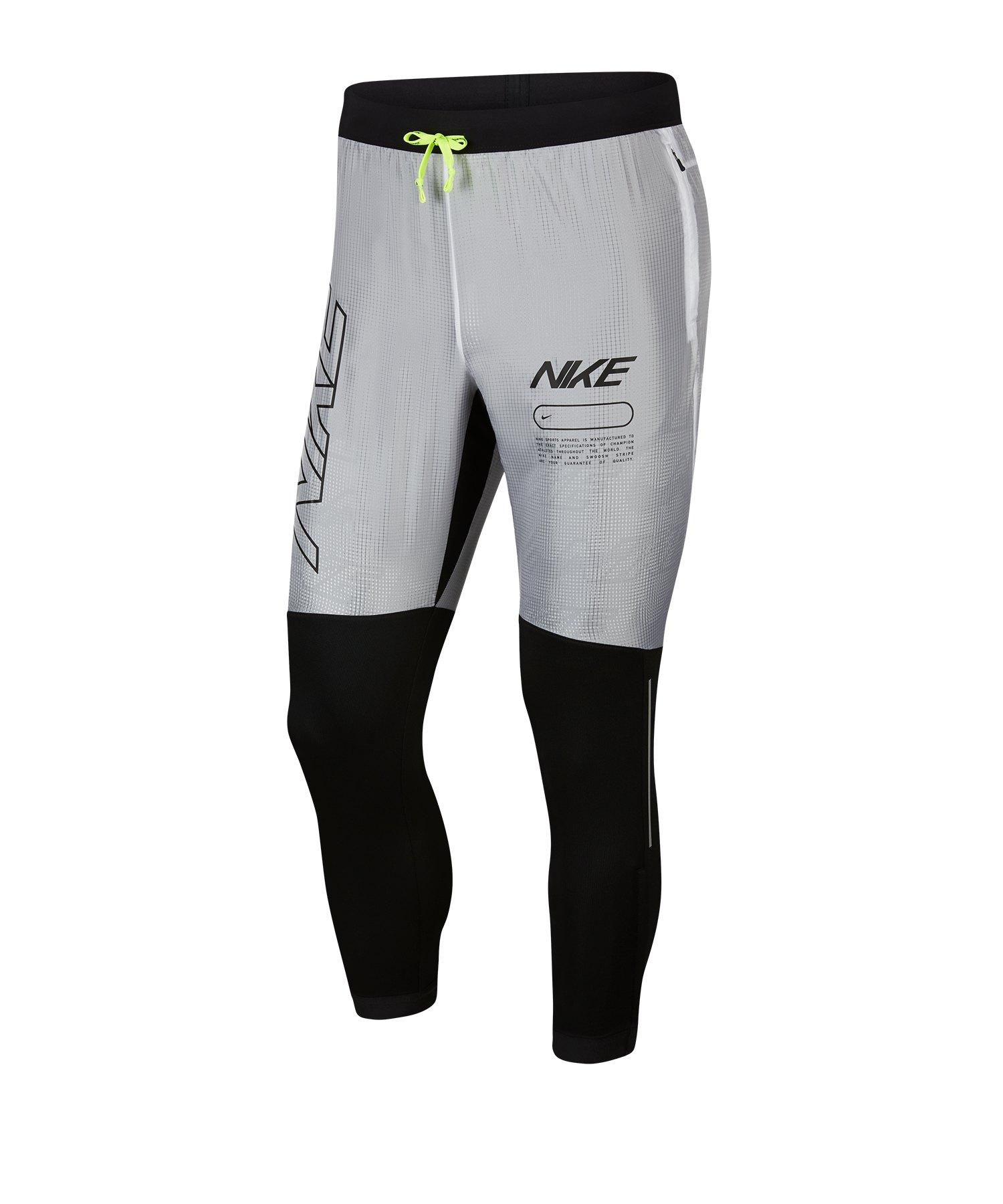 Nike Phenom Track Pants Laufhose Running F011 - schwarz