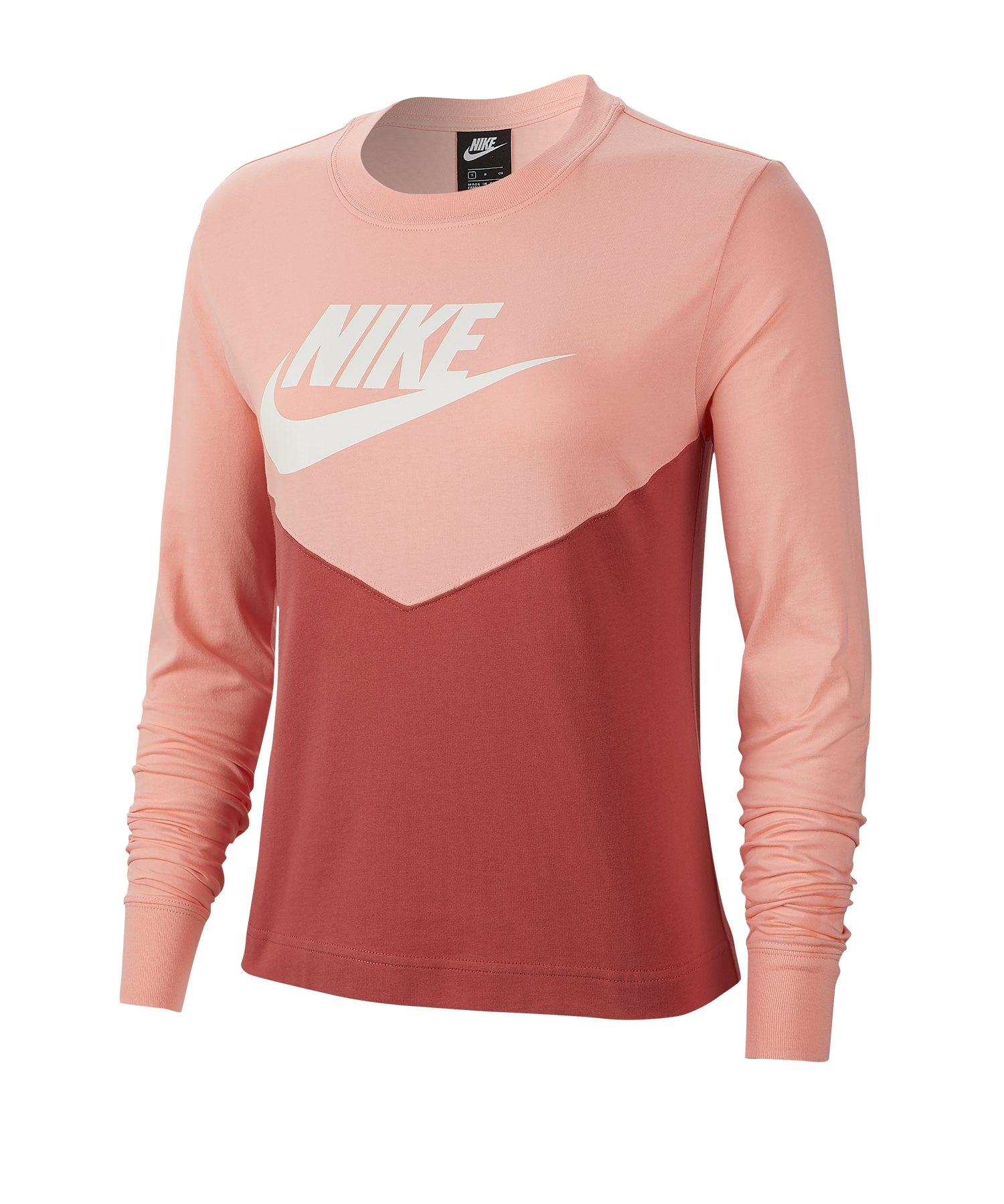 Nike Heritage Sweatshirt Damen Orange F897 - orange