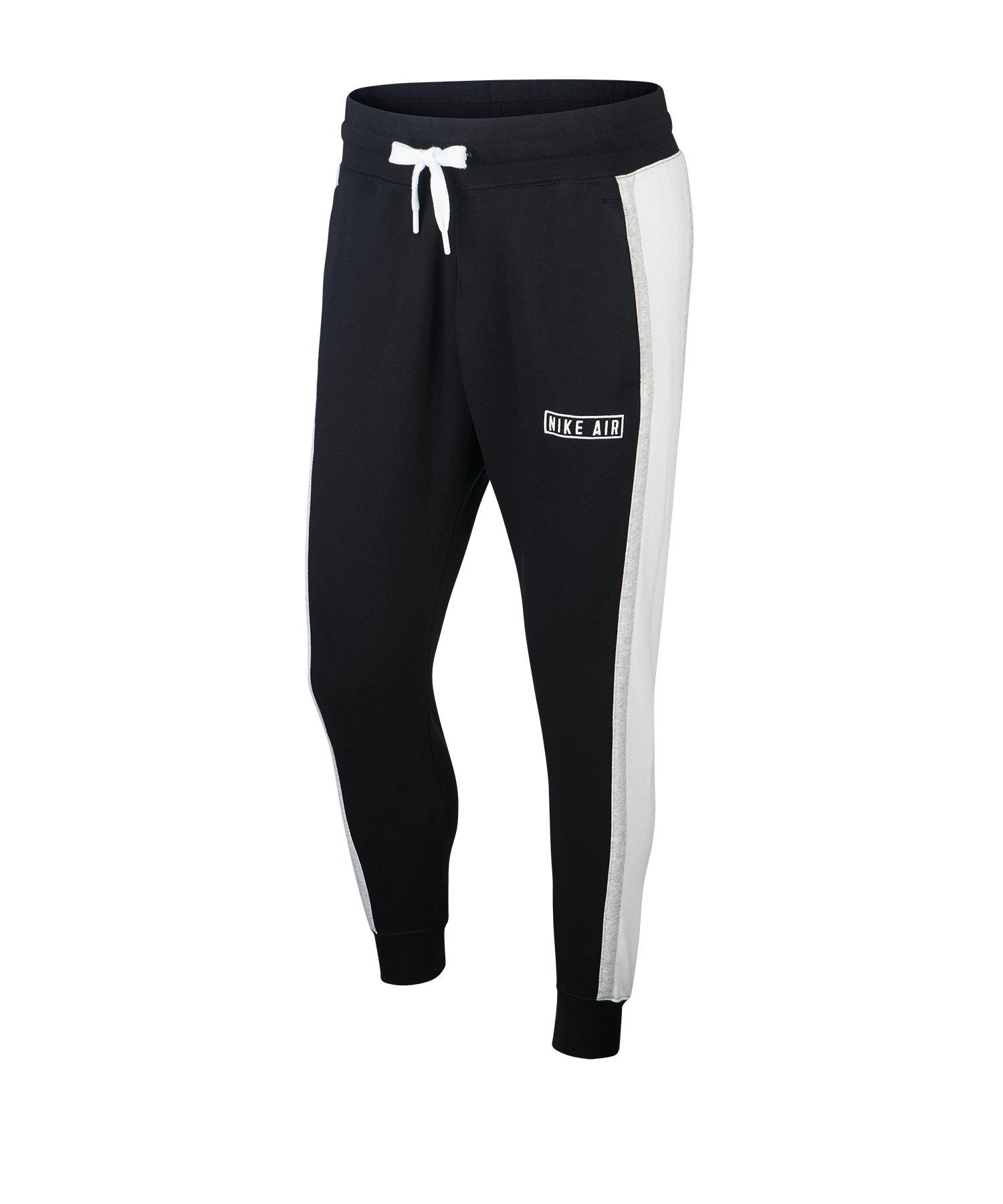 Nike Air Fleece Jogger Pant Hose Schwarz F010 - schwarz
